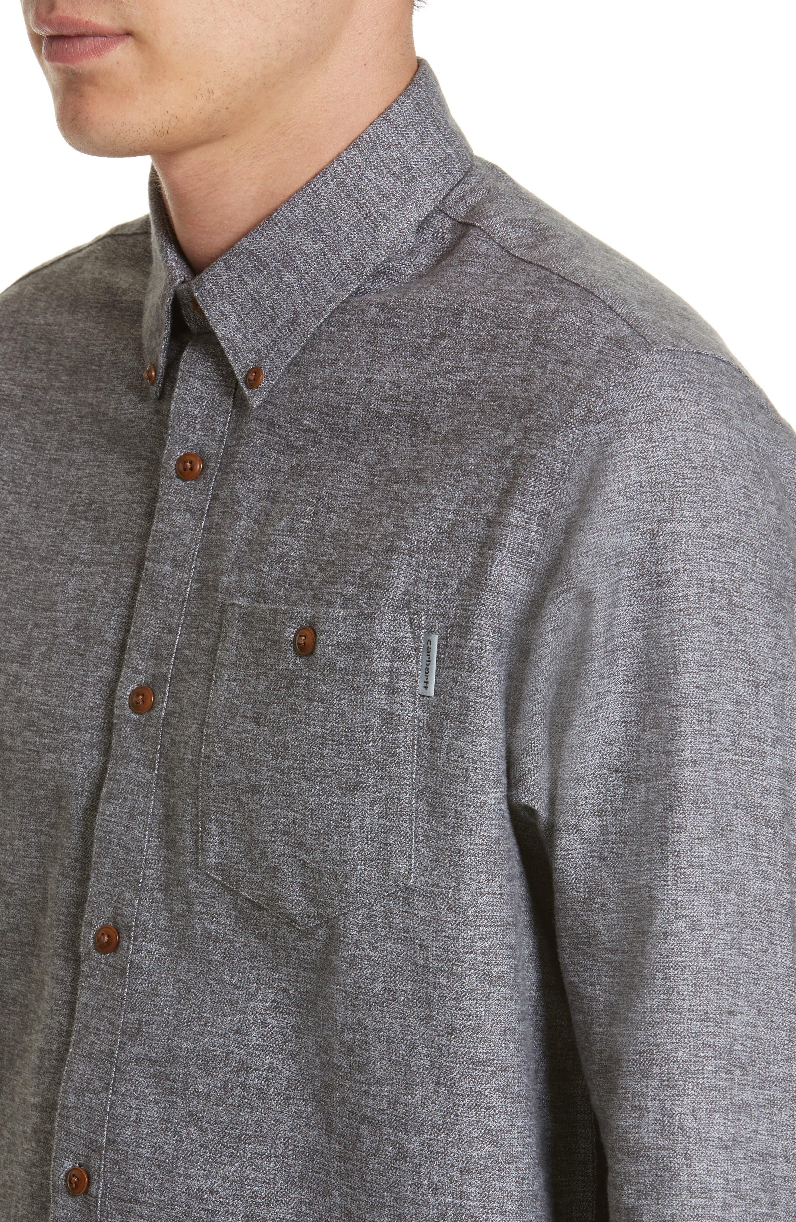 Alternate Image 5  - Carhartt Work in Progress Cram Sport Shirt