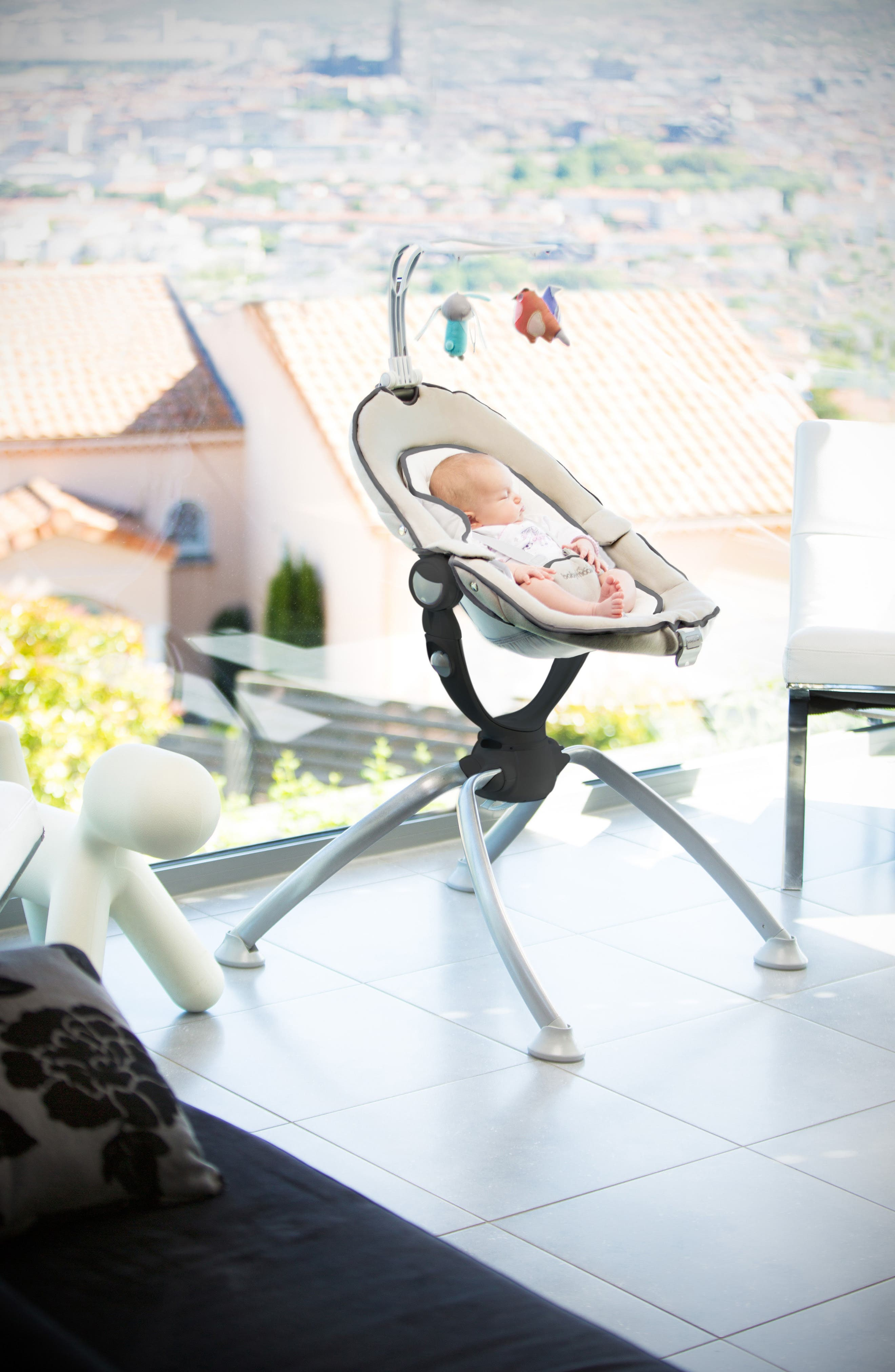Alternate Image 6  - Babymoov Swoon Up Baby Bouncer Seat