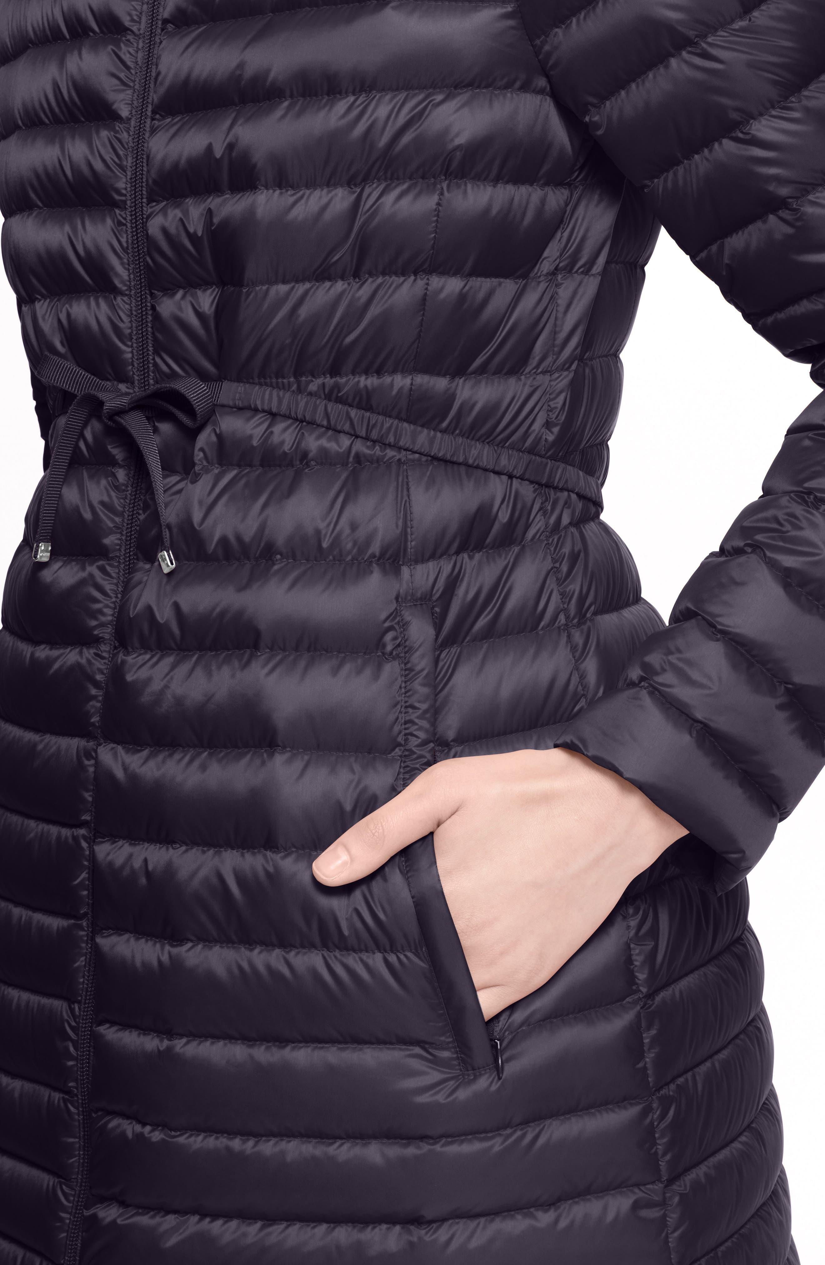 Alternate Image 7  - Moncler Barbel Water Resistant Long Hooded Down Jacket