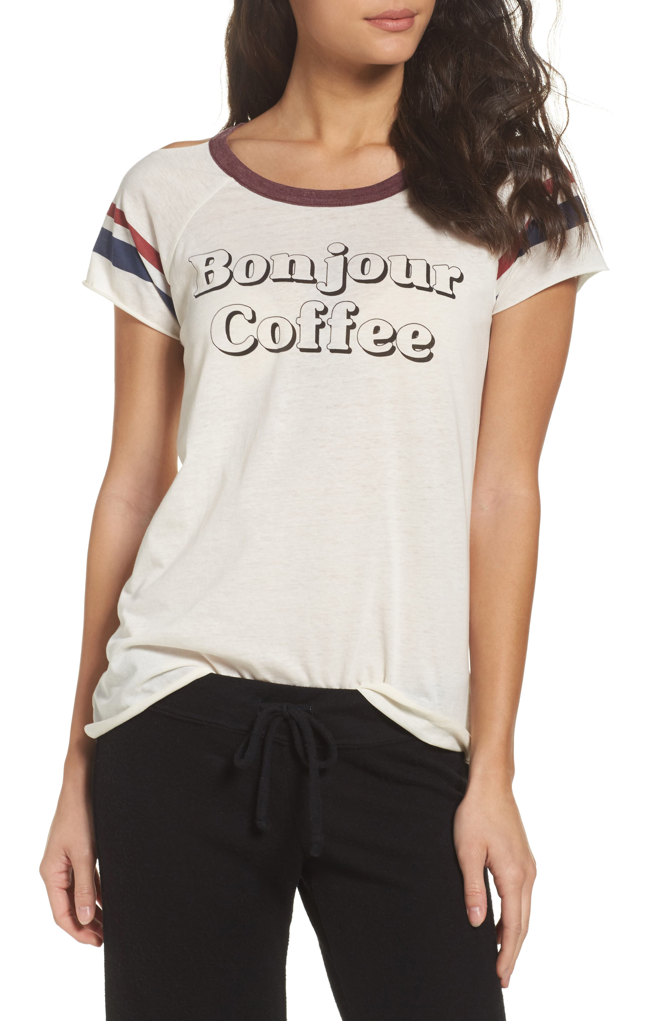 Chaser Bonjour Coffee Lounge Tee