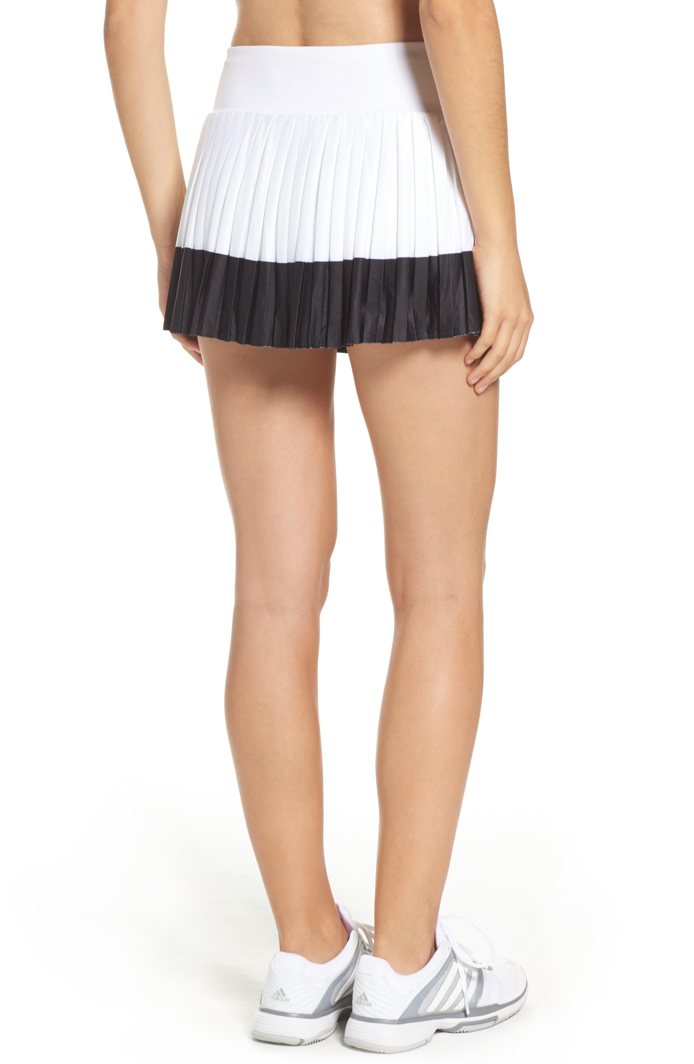 Barricade Skirt,                             Alternate thumbnail 2, color,                             White/ Black