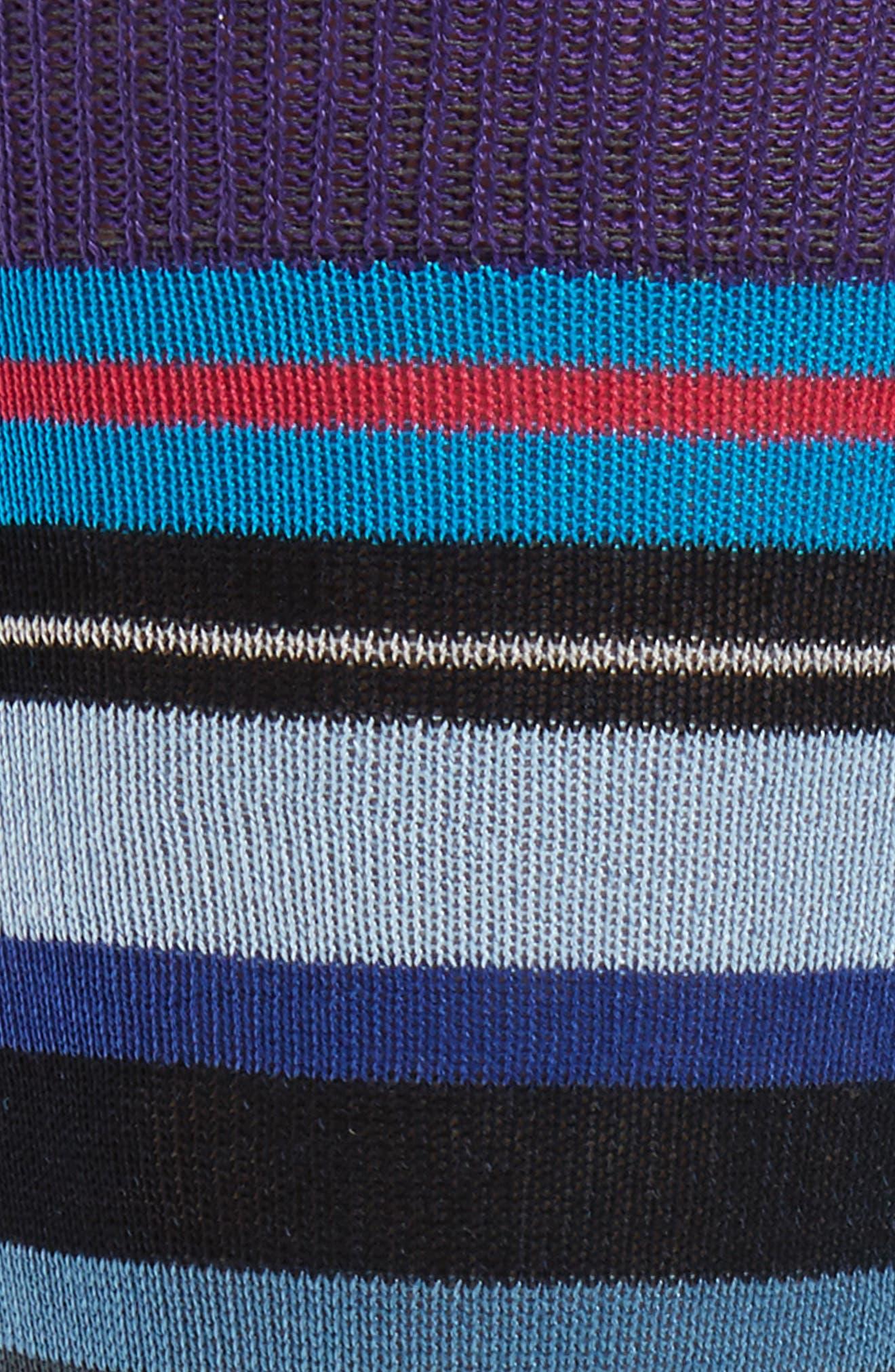 Alternate Image 2  - Paul Smith Halentoe Stripe Socks