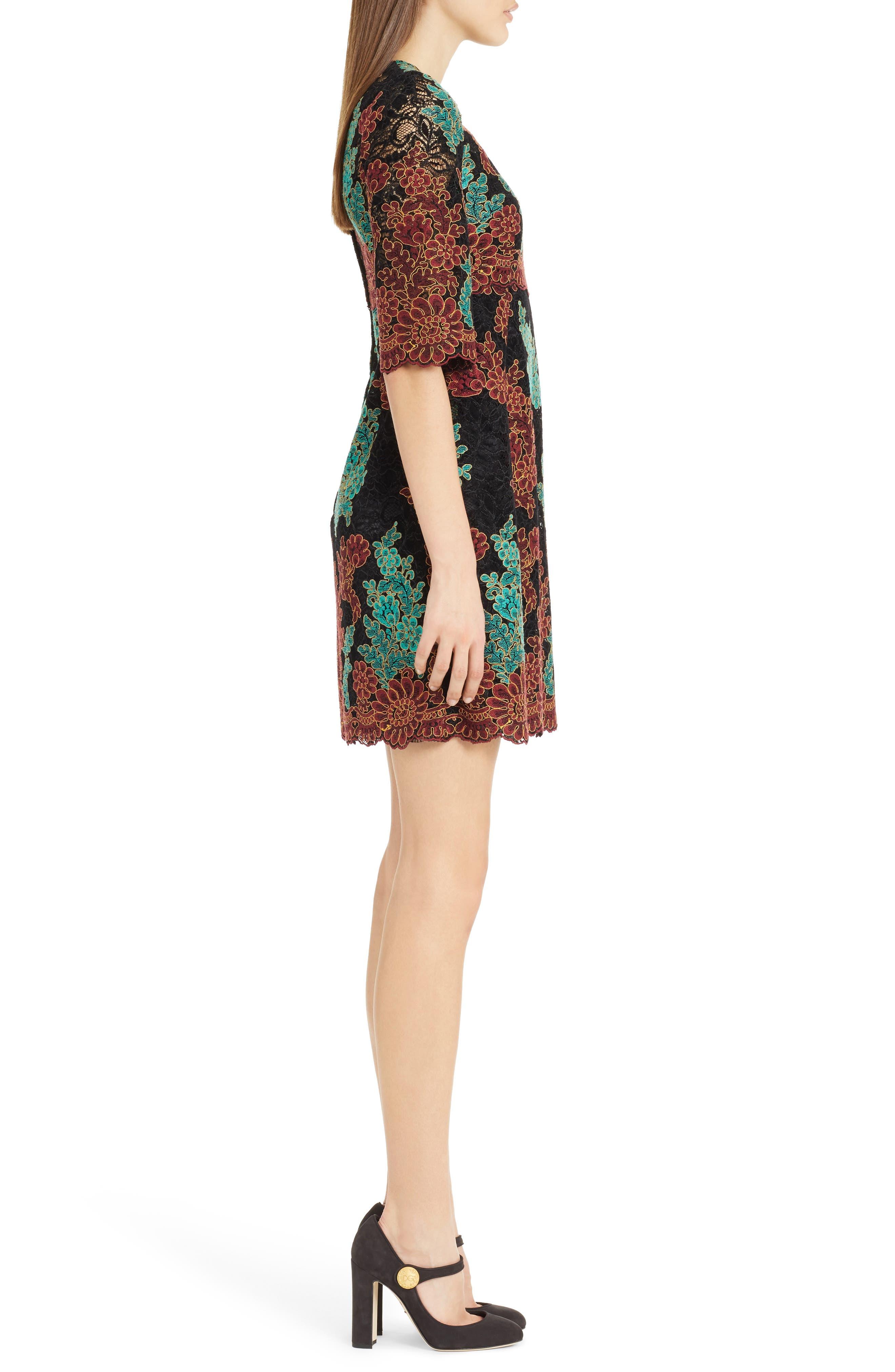 Alternate Image 3  - Dolce&Gabbana Lace Minidress