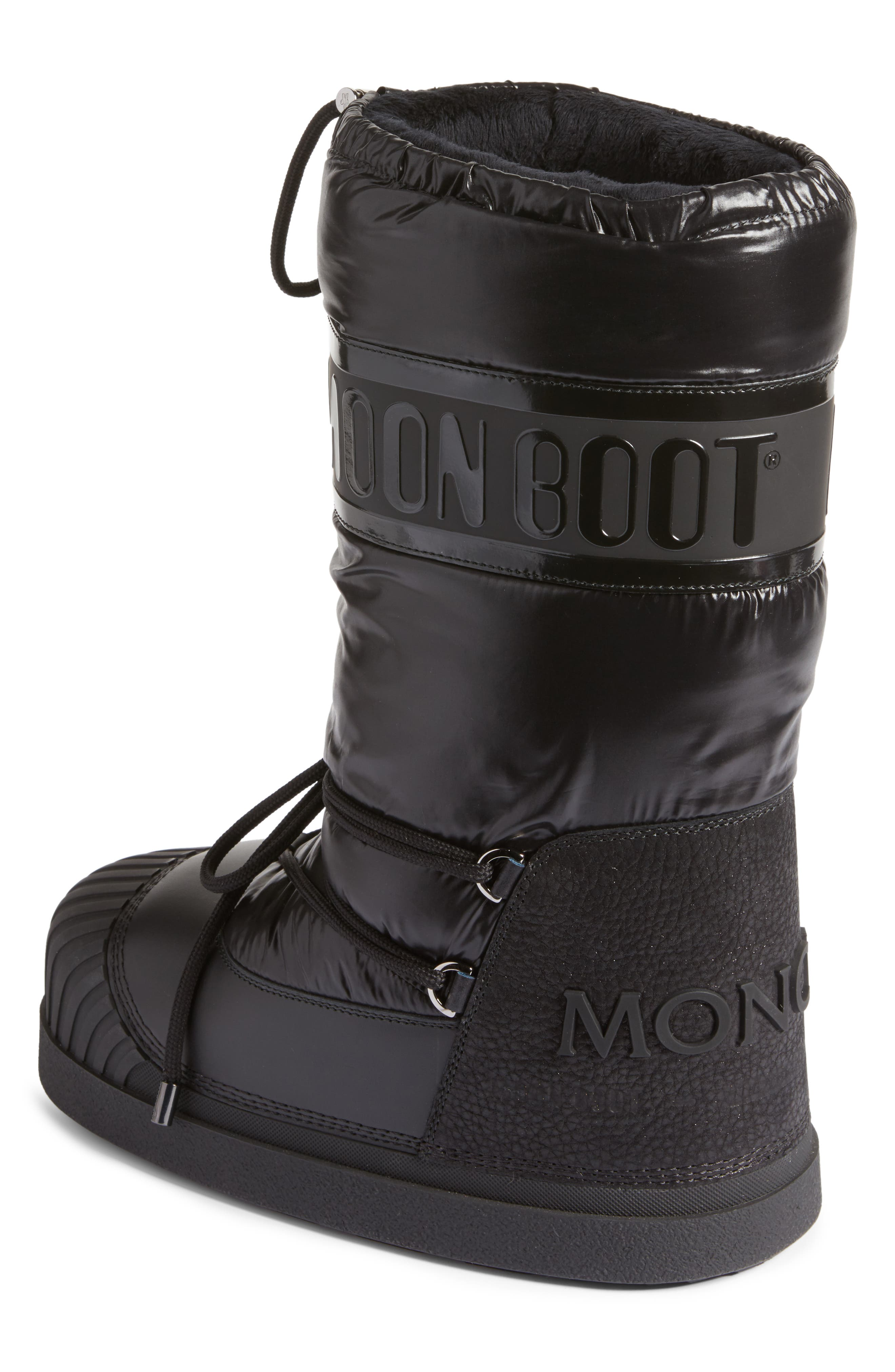 Venus Moon Boot,                             Alternate thumbnail 2, color,                             Black