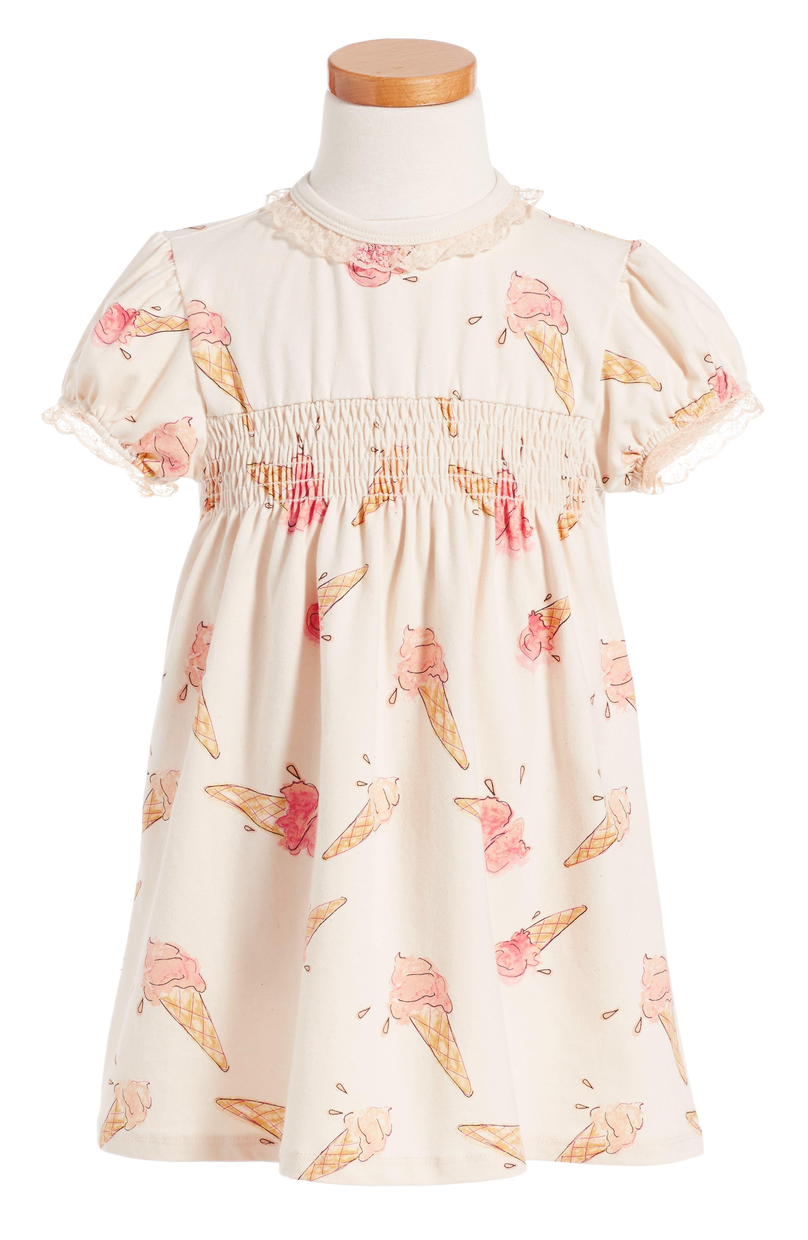 Alternate Image 1 Selected - For Love & Lemons Ice Cream Print Dress (Toddler Girls & Little Girls)