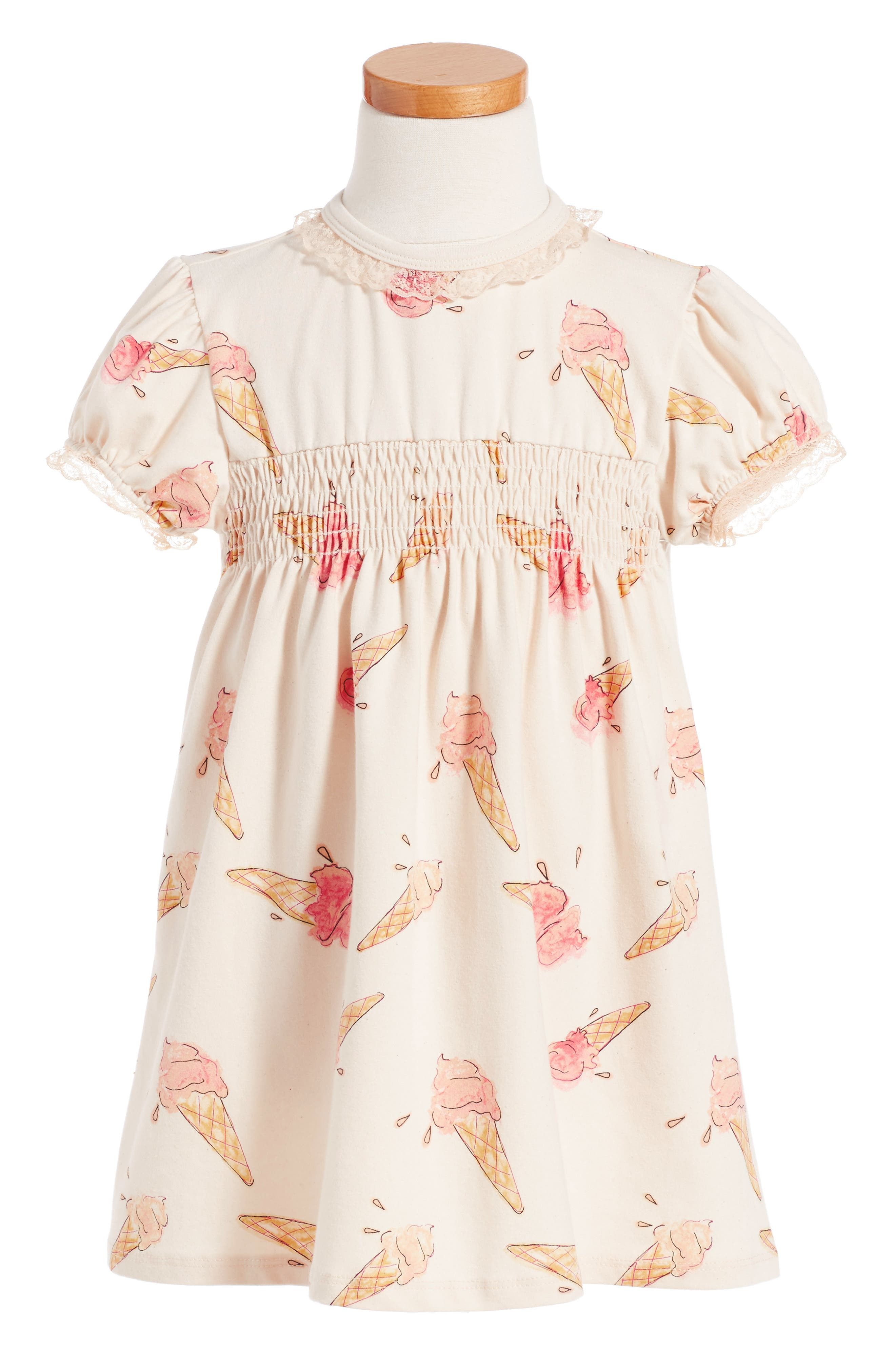 For Love & Lemons Ice Cream Print Dress (Toddler Girls & Little Girls)