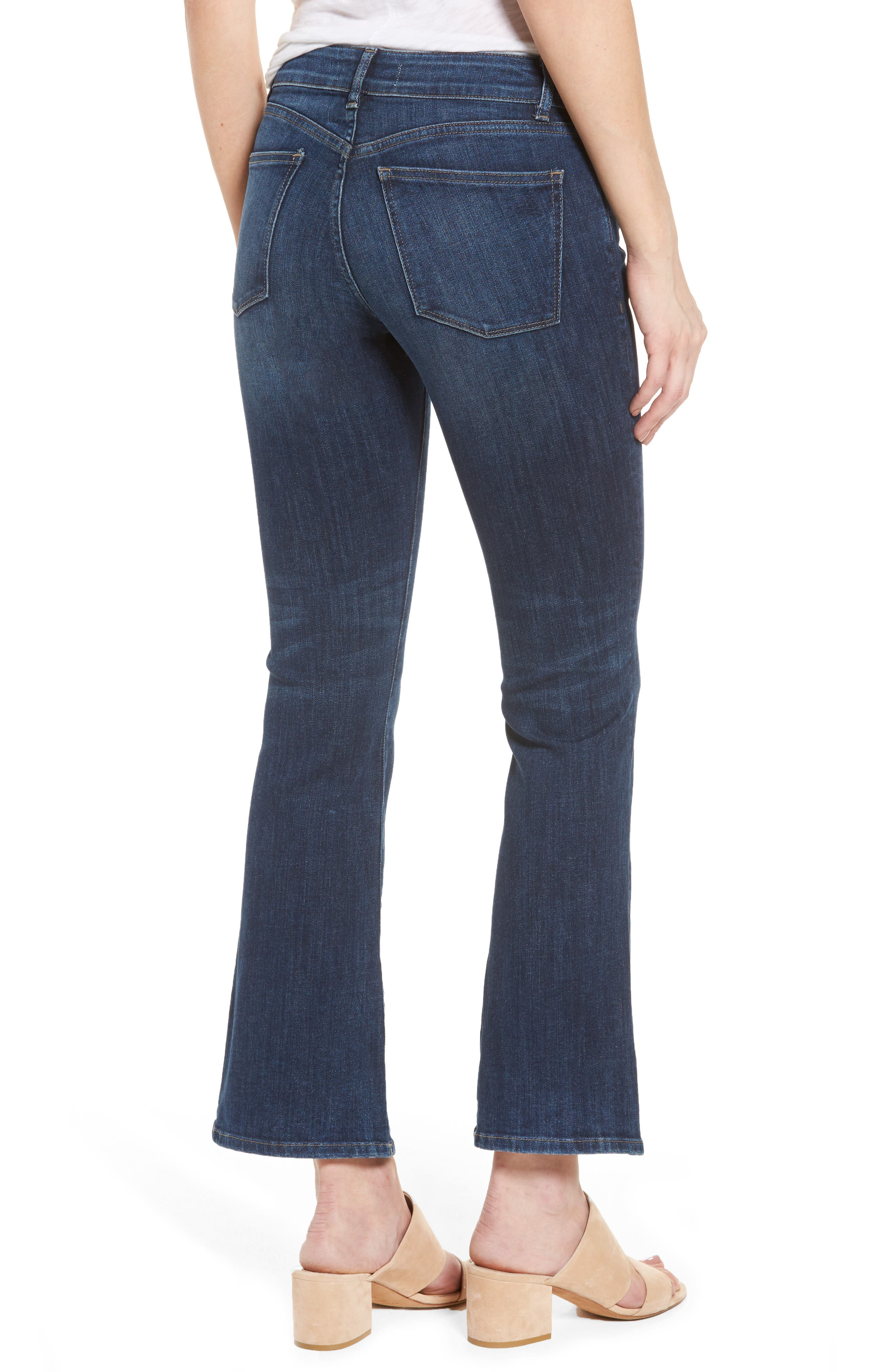 Alternate Image 2  - DL1961 Abbey Bootcut Jeans (Maize)