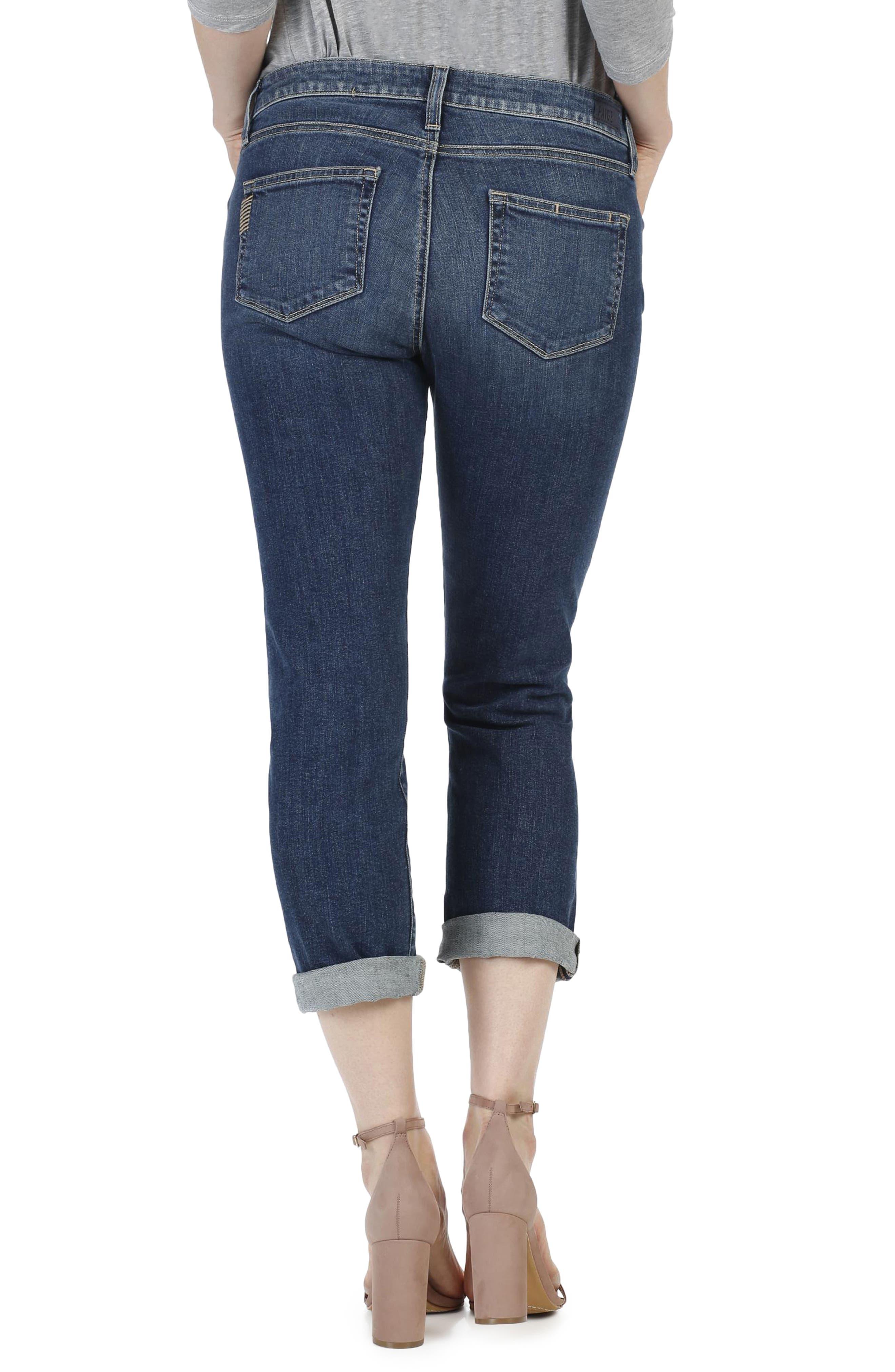 Alternate Image 3  - PAIGE Brigitte Crop Boyfriend Jeans