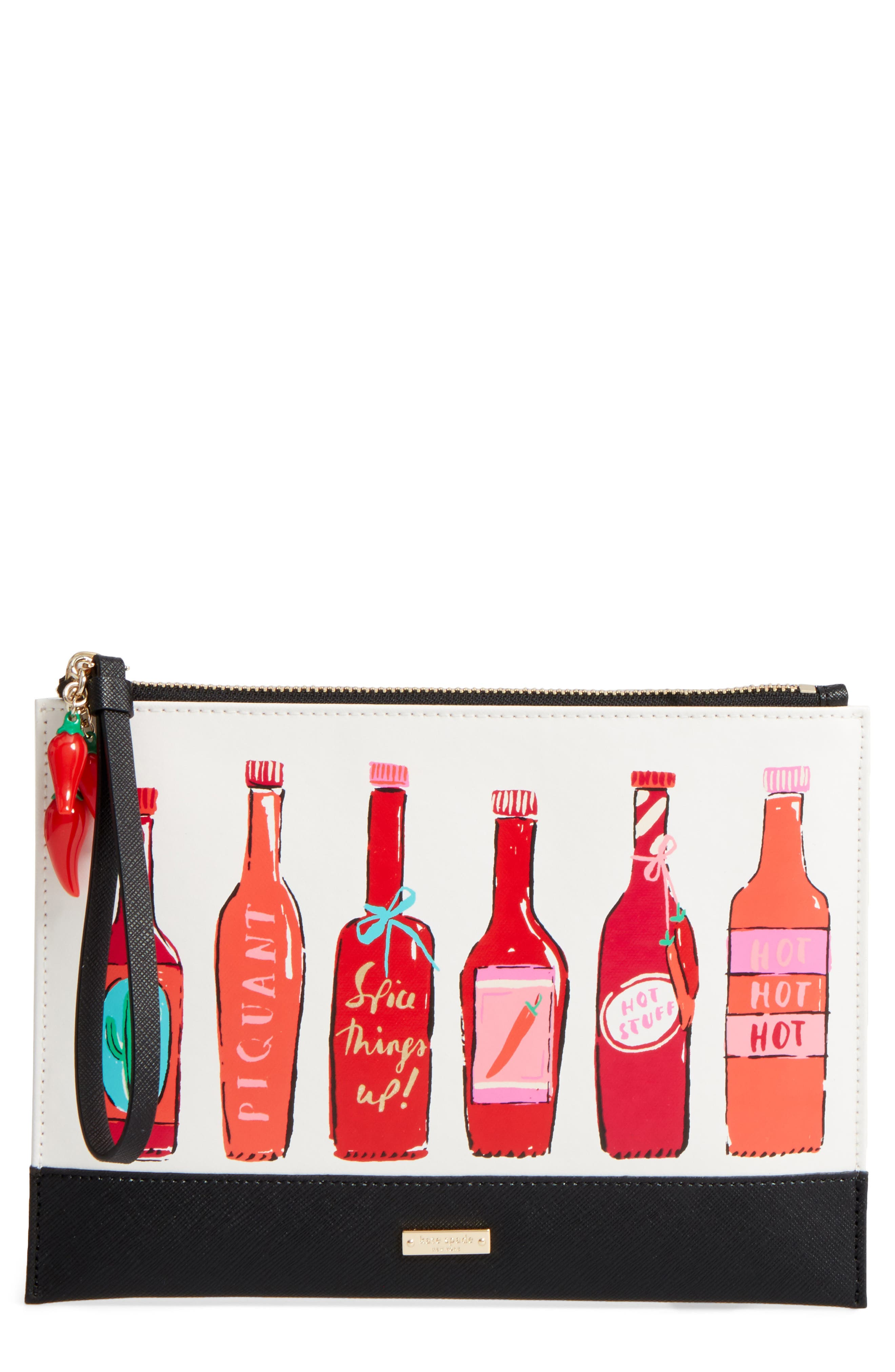 KATE SPADE NEW YORK spice things up zip pouch