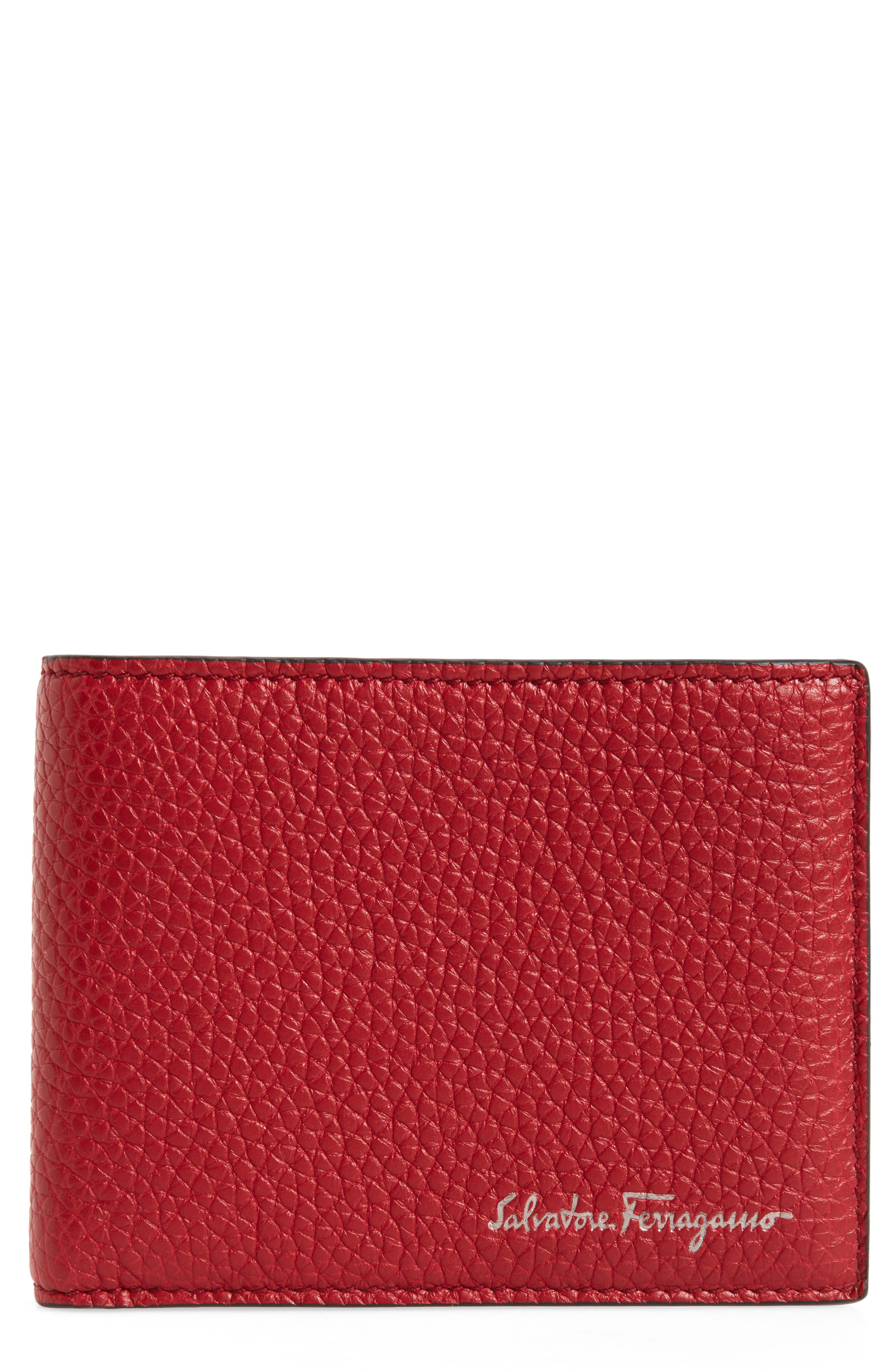 Salvatore Ferragamo Firenze Leather Bifold Wallet
