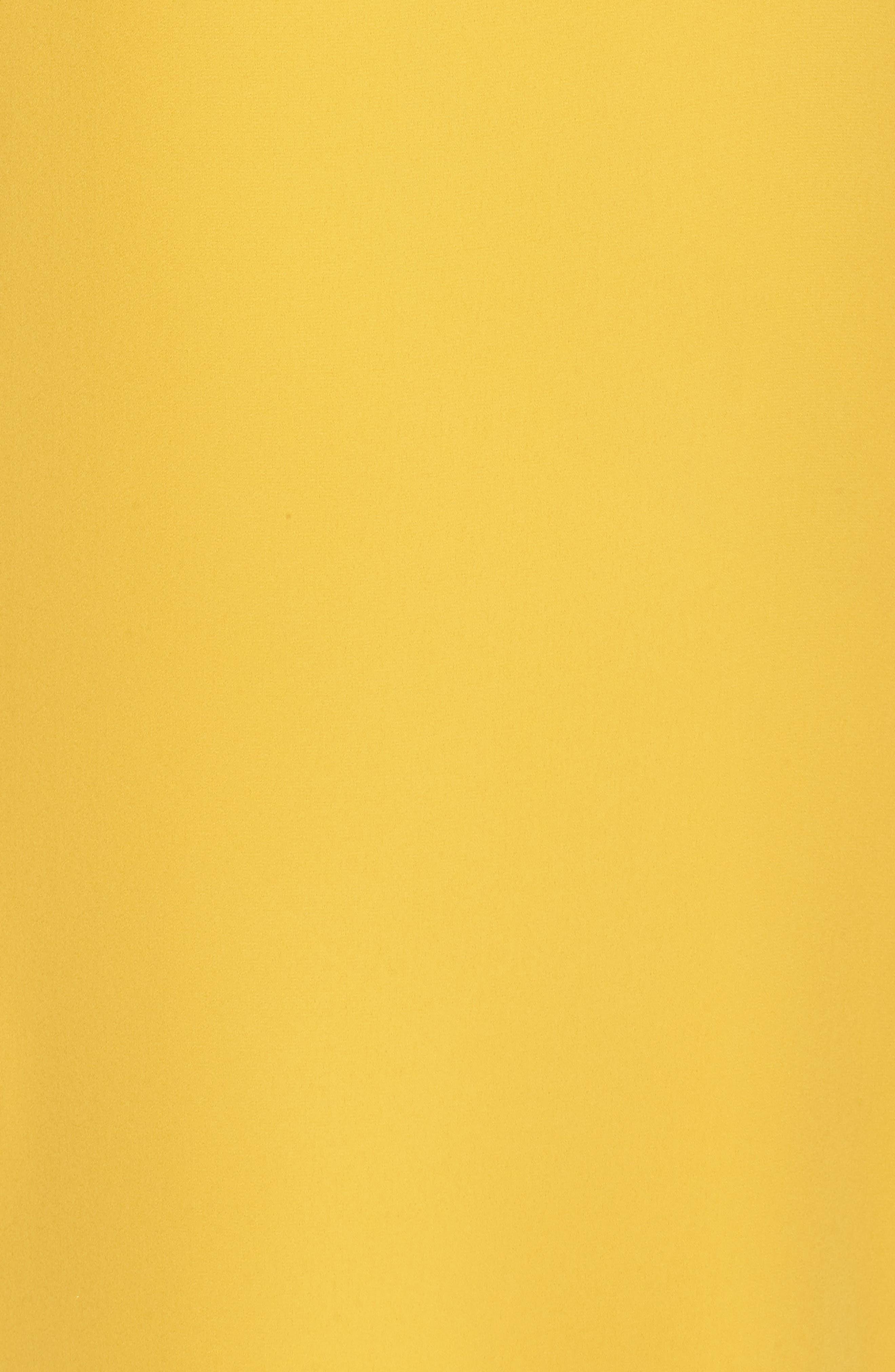 Dobby Midi Dress,                             Alternate thumbnail 5, color,                             Golden