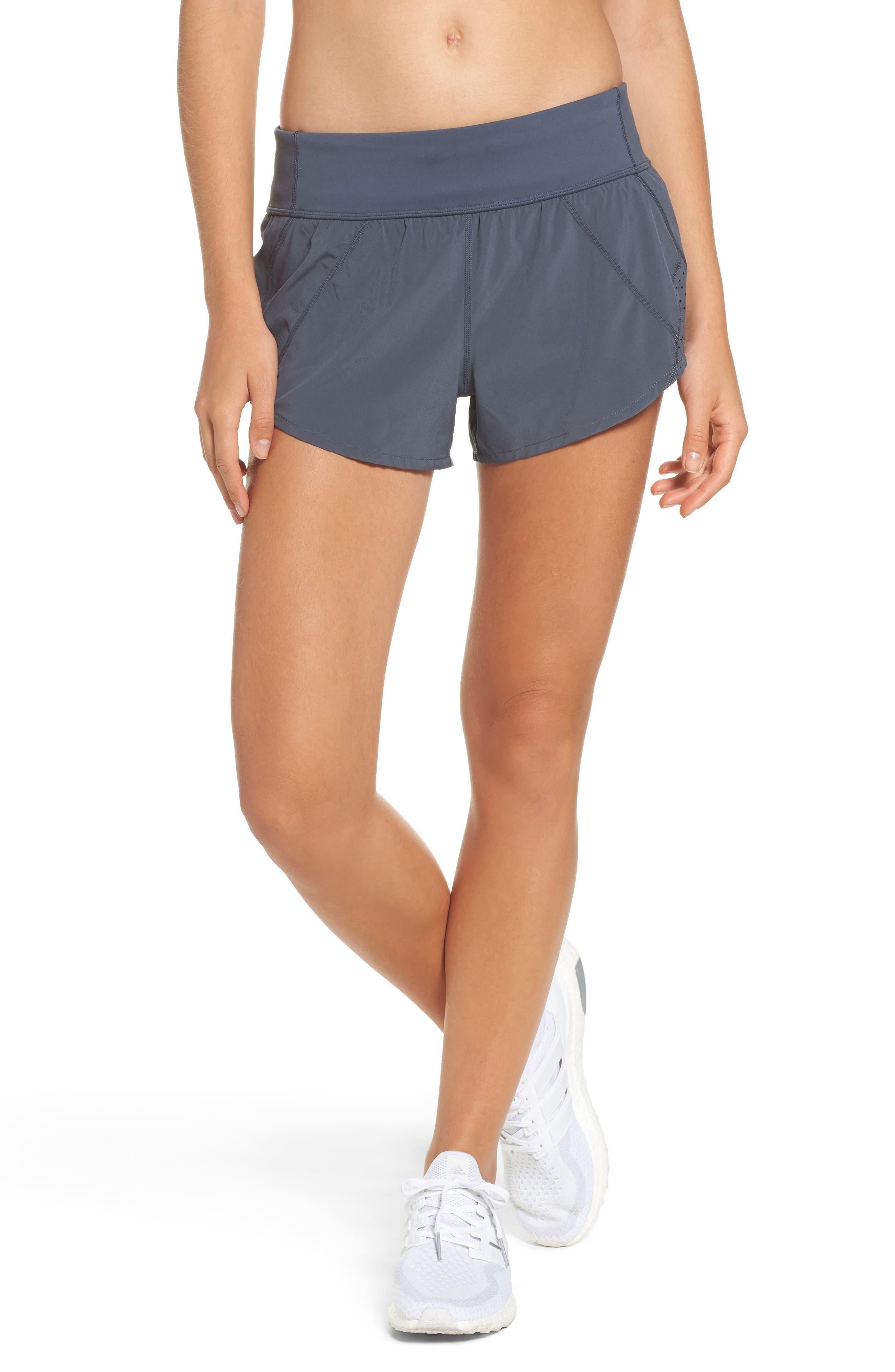 Runaround Compact Shorts,                         Main,                         color, Grey Graphite
