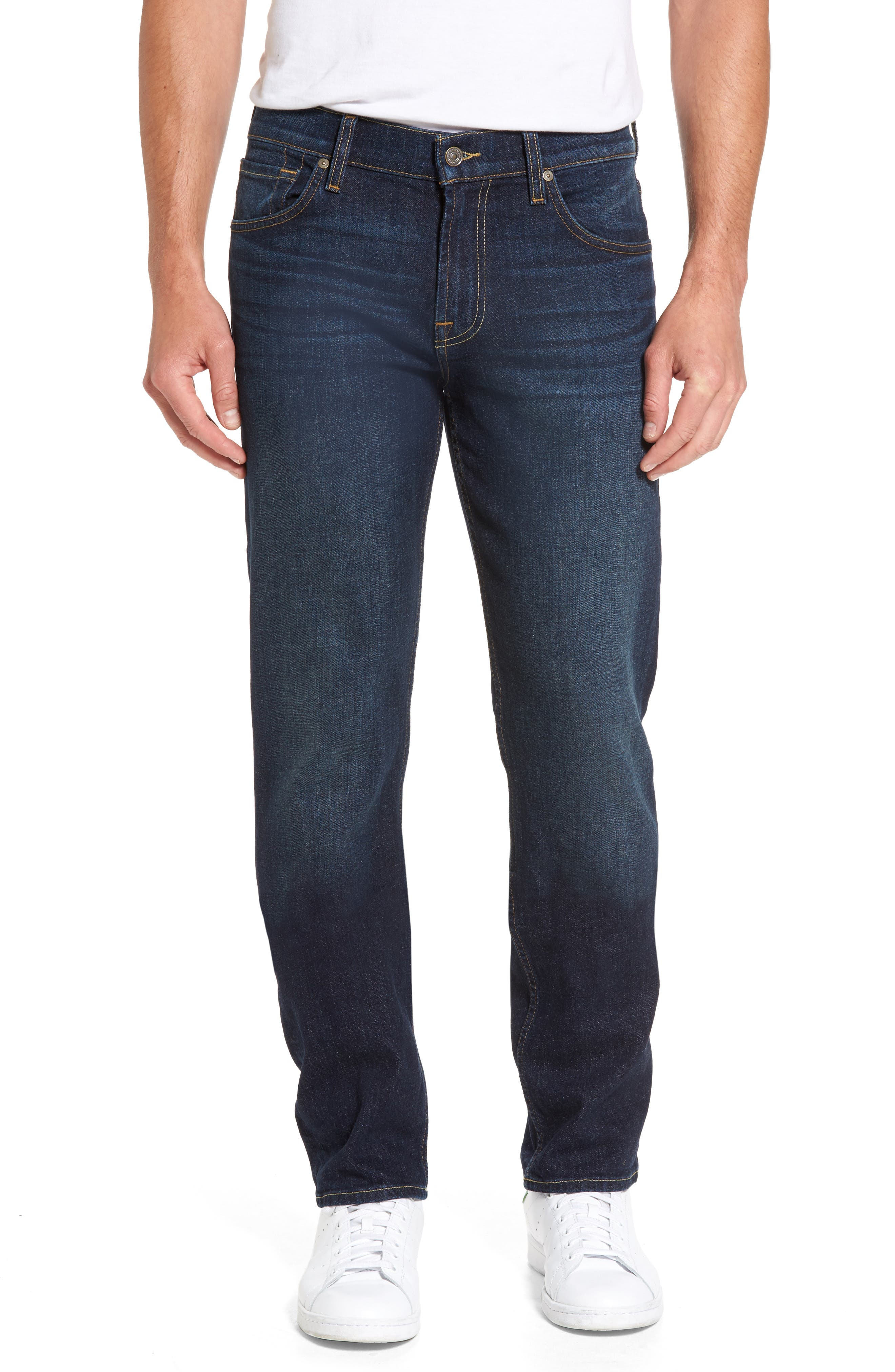 Main Image - 7 For All Mankind® The Standard Straight Fit Jeans (Covington)
