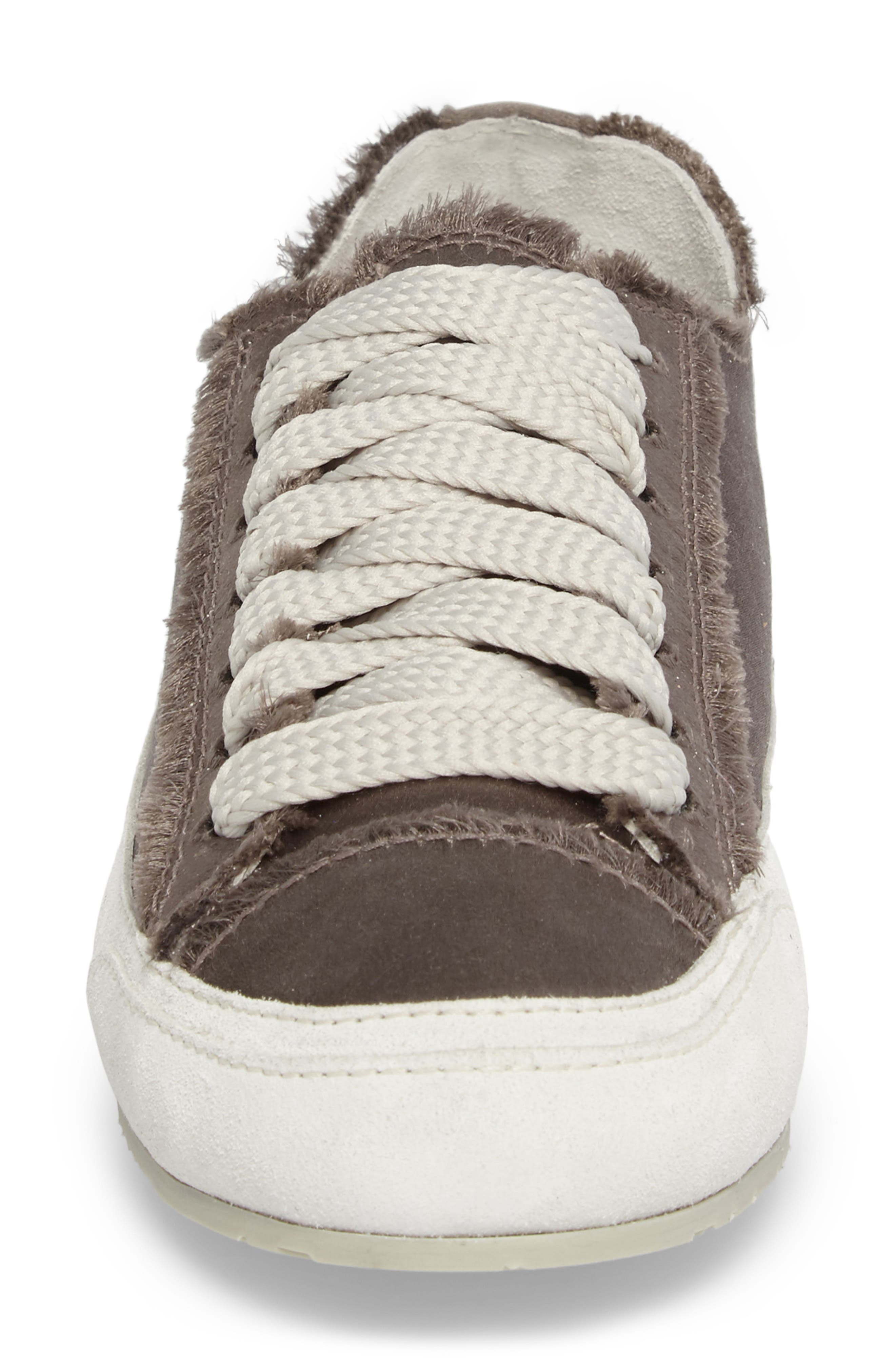 'Parson' Satin Sneaker,                             Alternate thumbnail 3, color,                             Truffle Satin