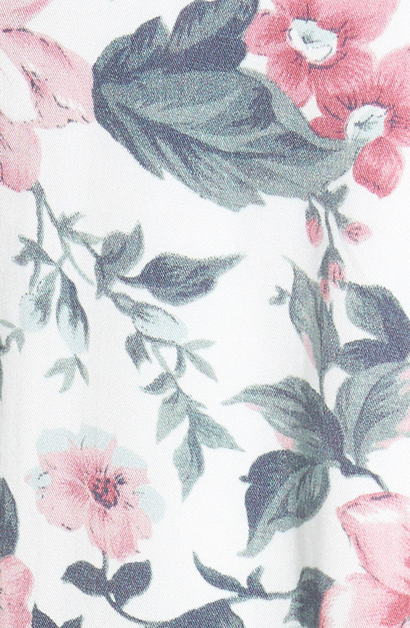 Sunday Midi Skirt,                             Alternate thumbnail 6, color,                             Carnation