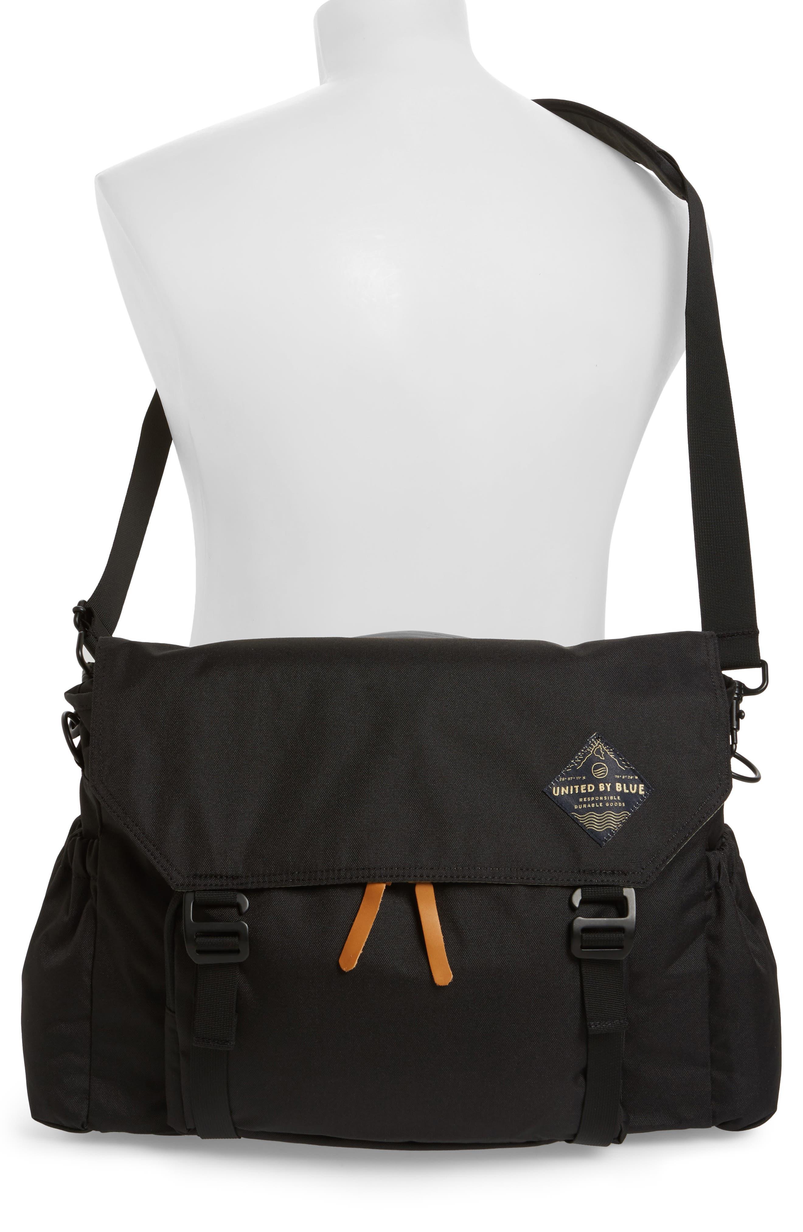 Crossridge Messenger Bag,                             Alternate thumbnail 2, color,                             Black