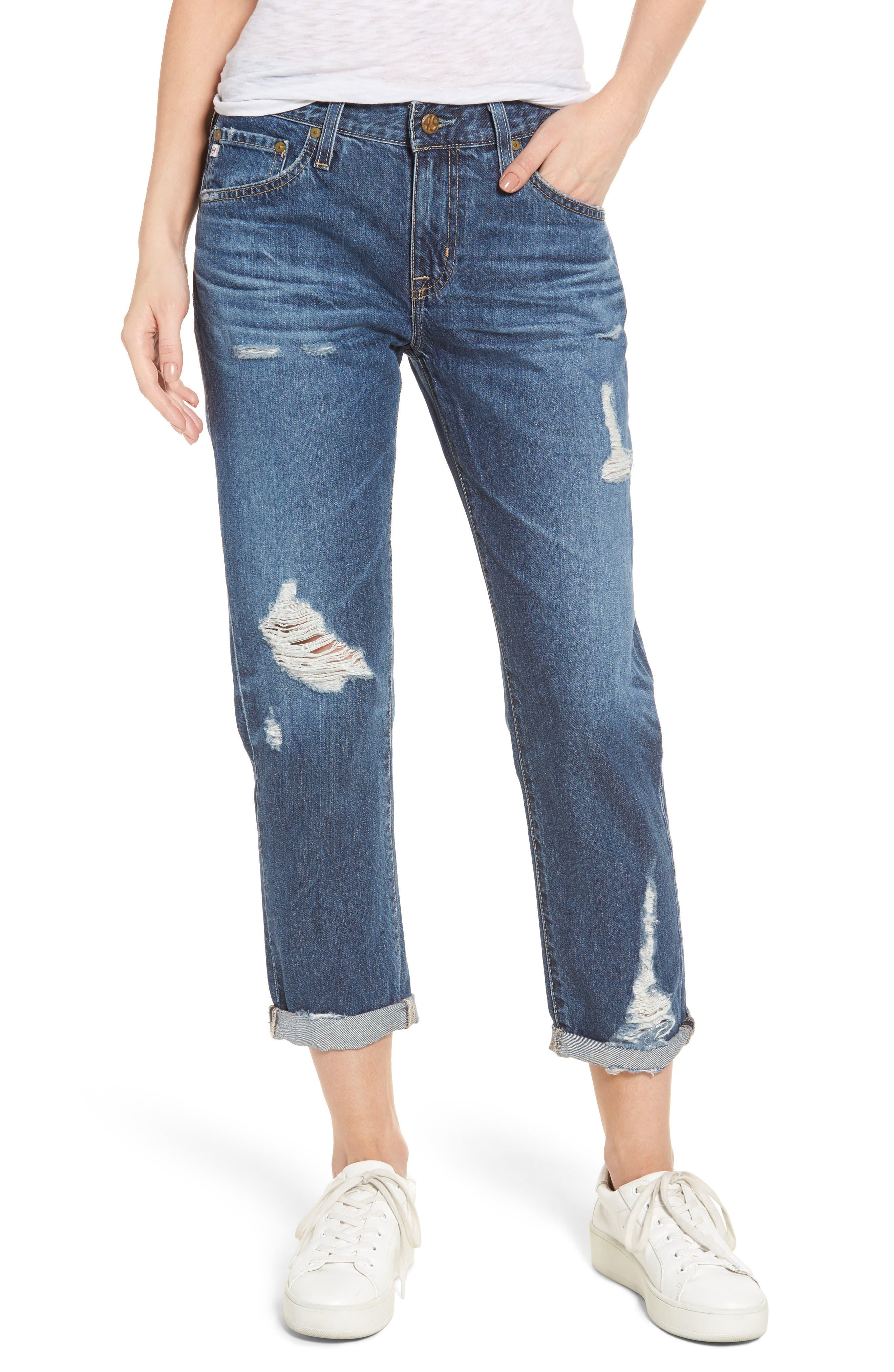 AG 'The Ex Boyfriend' Slim Jeans (09 Years Exemption)