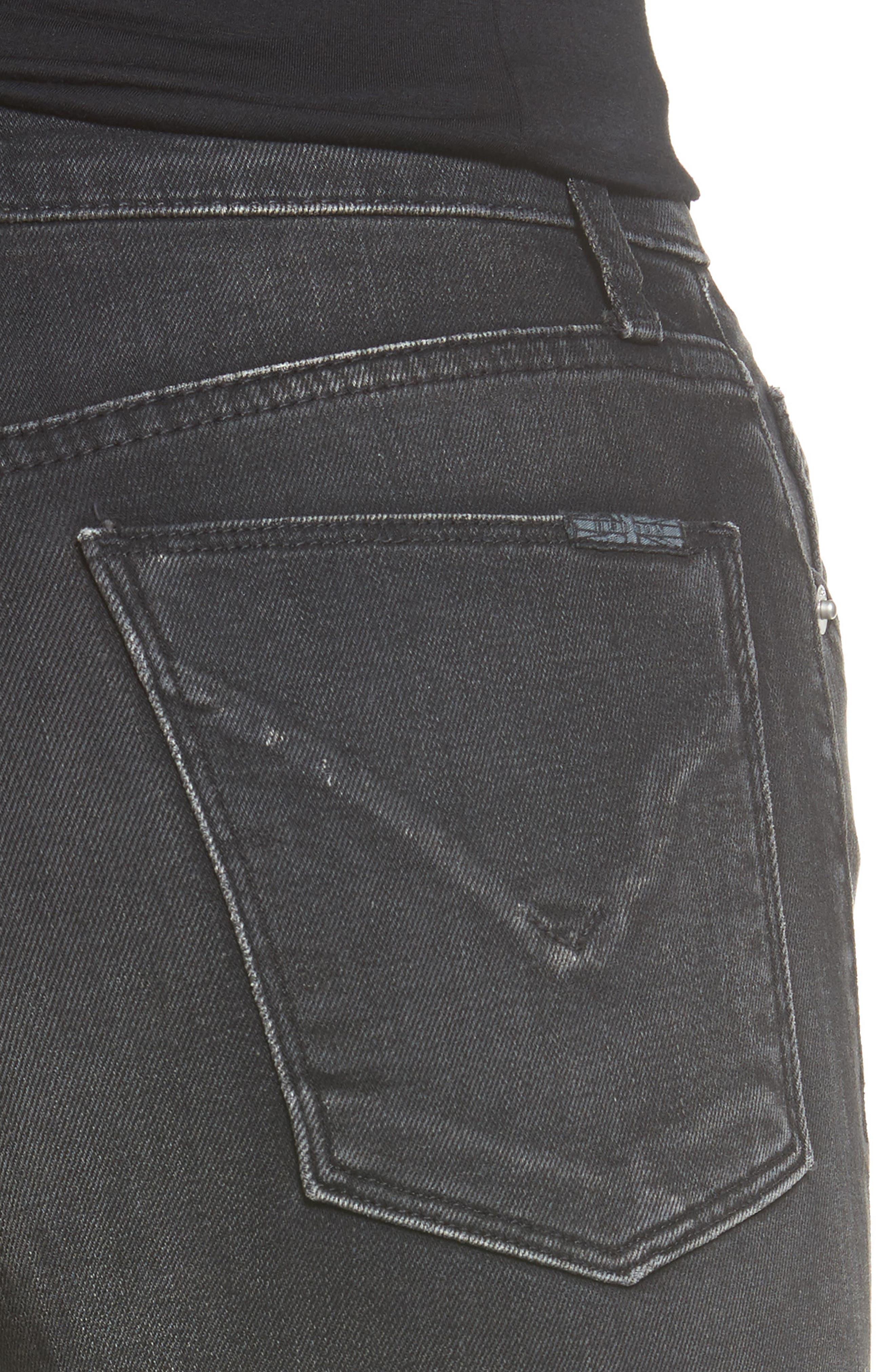 Heartbreaker High Waist Bootcut Jeans,                             Alternate thumbnail 4, color,                             Abandon