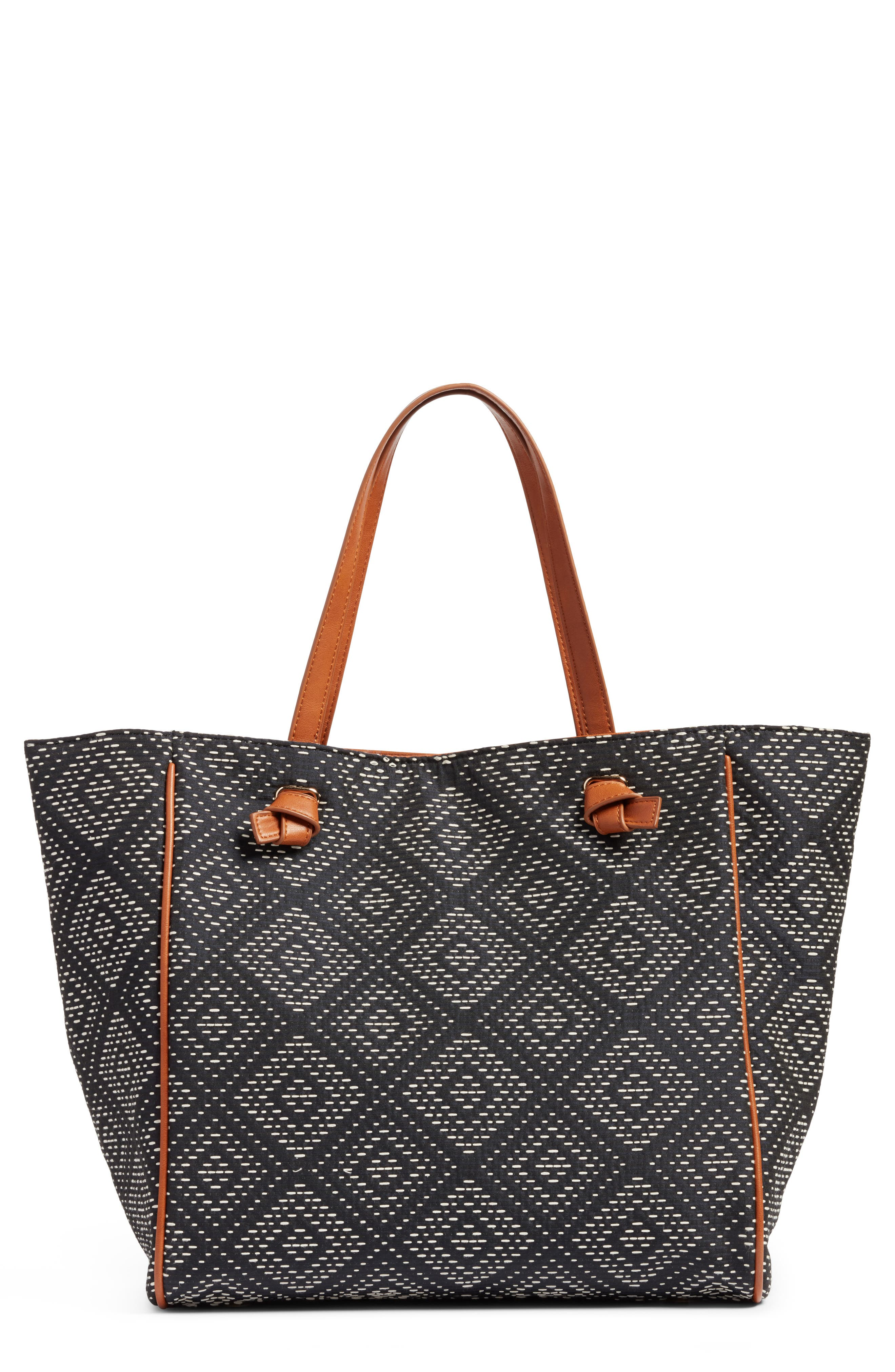 Sole Society Geo Woven Tote