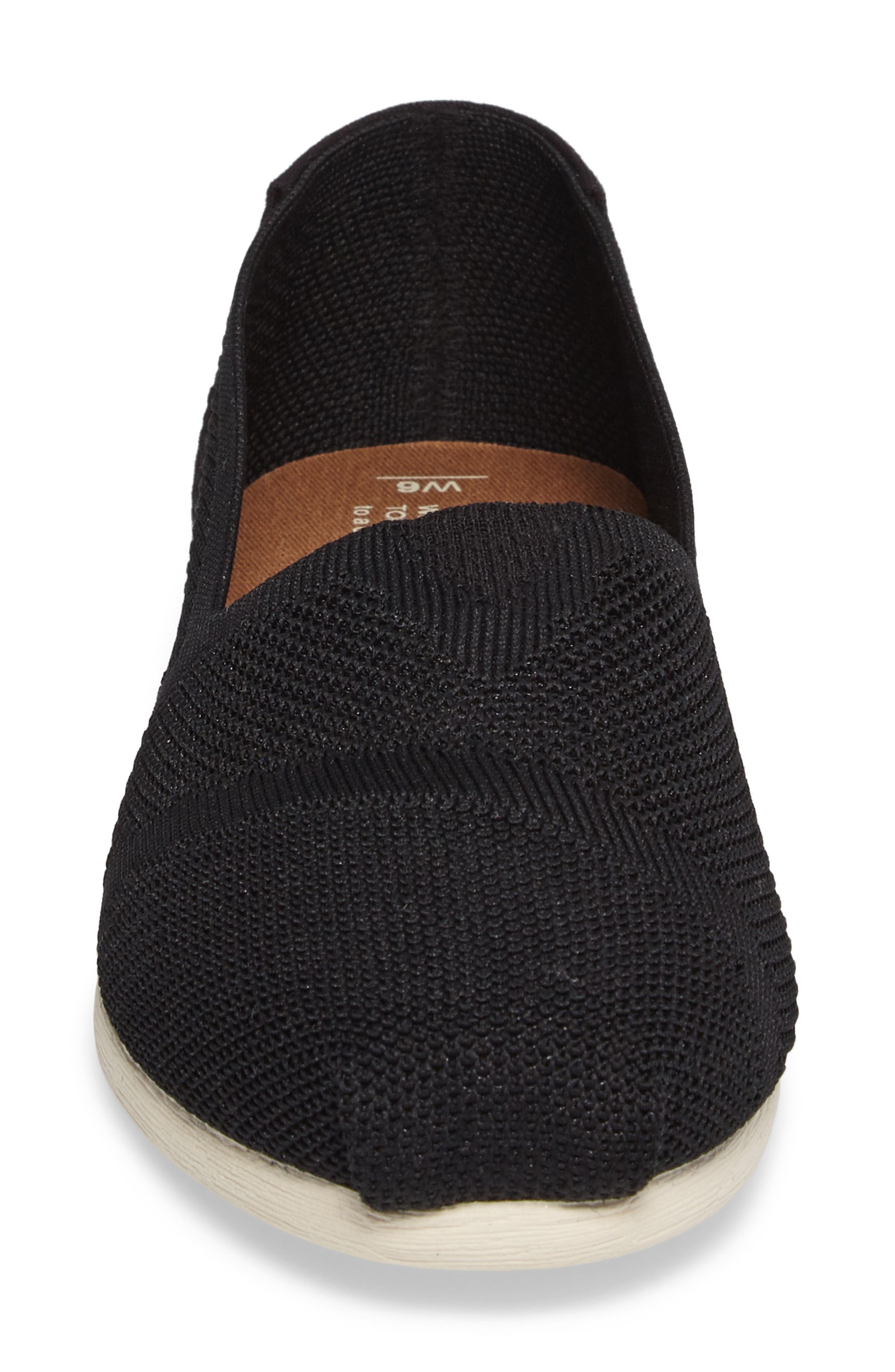 Alternate Image 4  - TOMS Alpargata Knit Slip-On (Women)