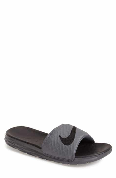 6034921a9 Nike  Benassi Solarsoft 2  Slide Sandal (Men)