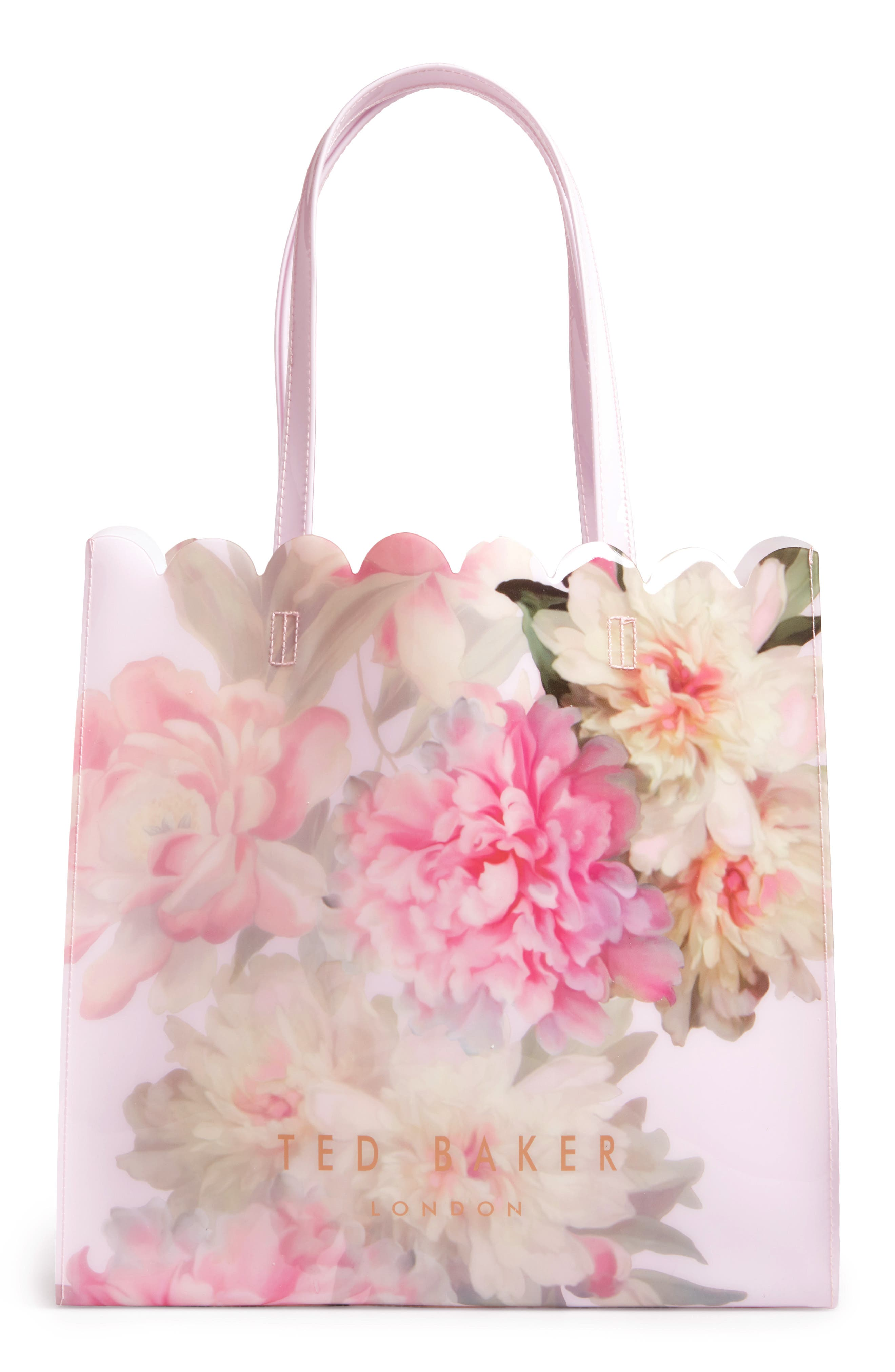 Main Image - Ted Baker London Painted Posie Large Icon Bag
