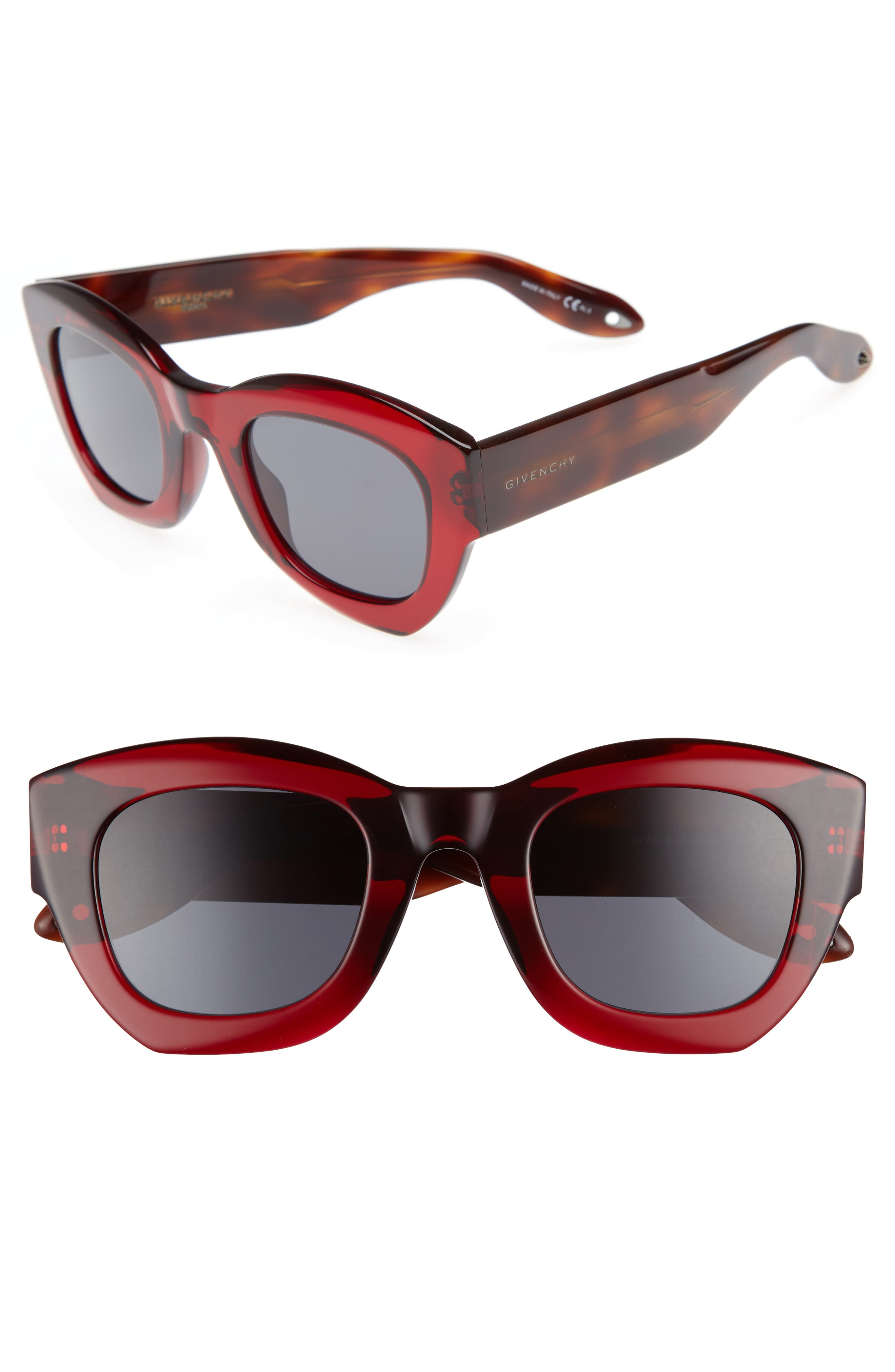 Alternate Image 1 Selected - Givenchy 48mm Cat Eye Sunglasses