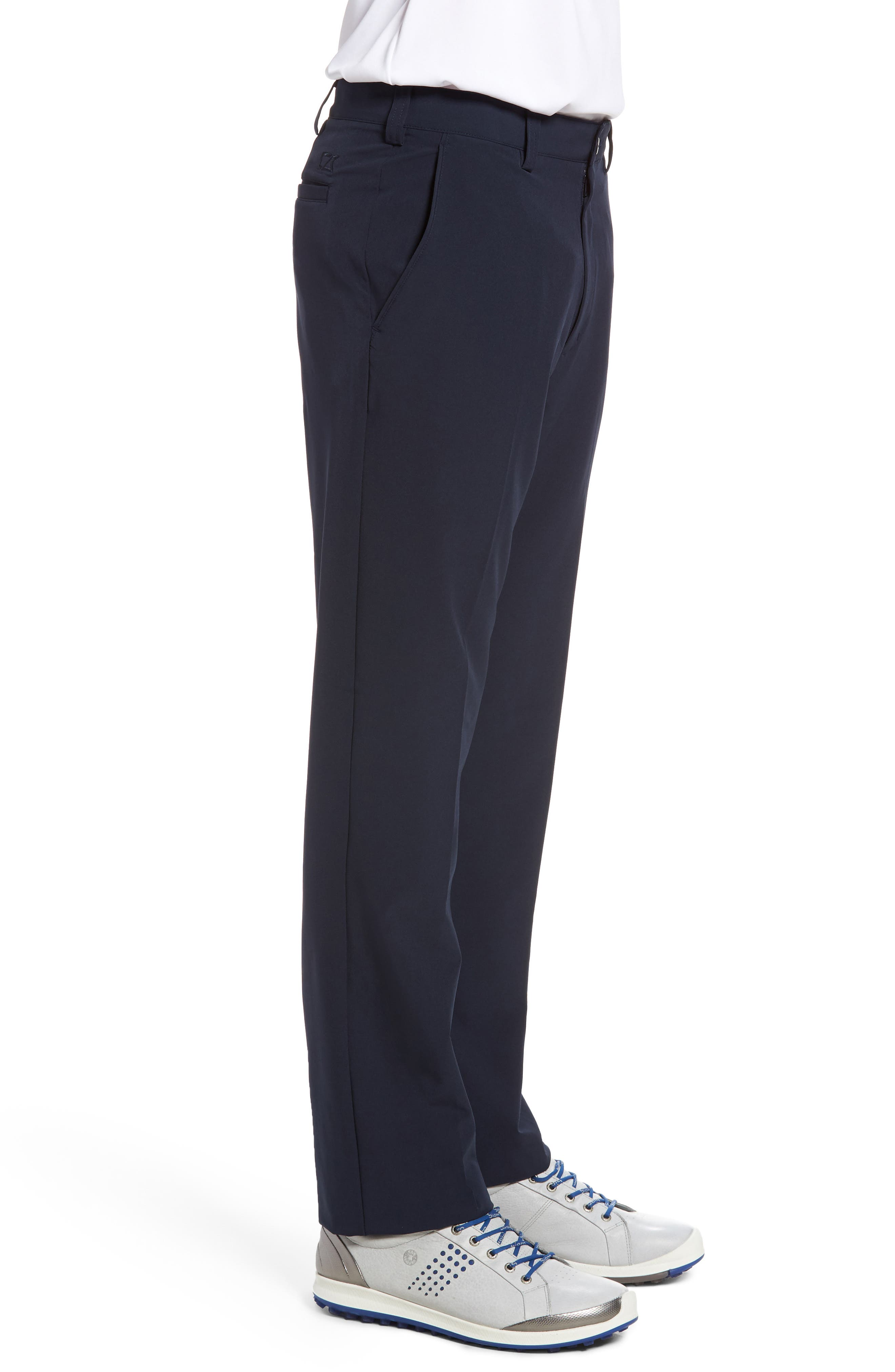 DryTec Chinos,                             Alternate thumbnail 3, color,                             Navy Blue