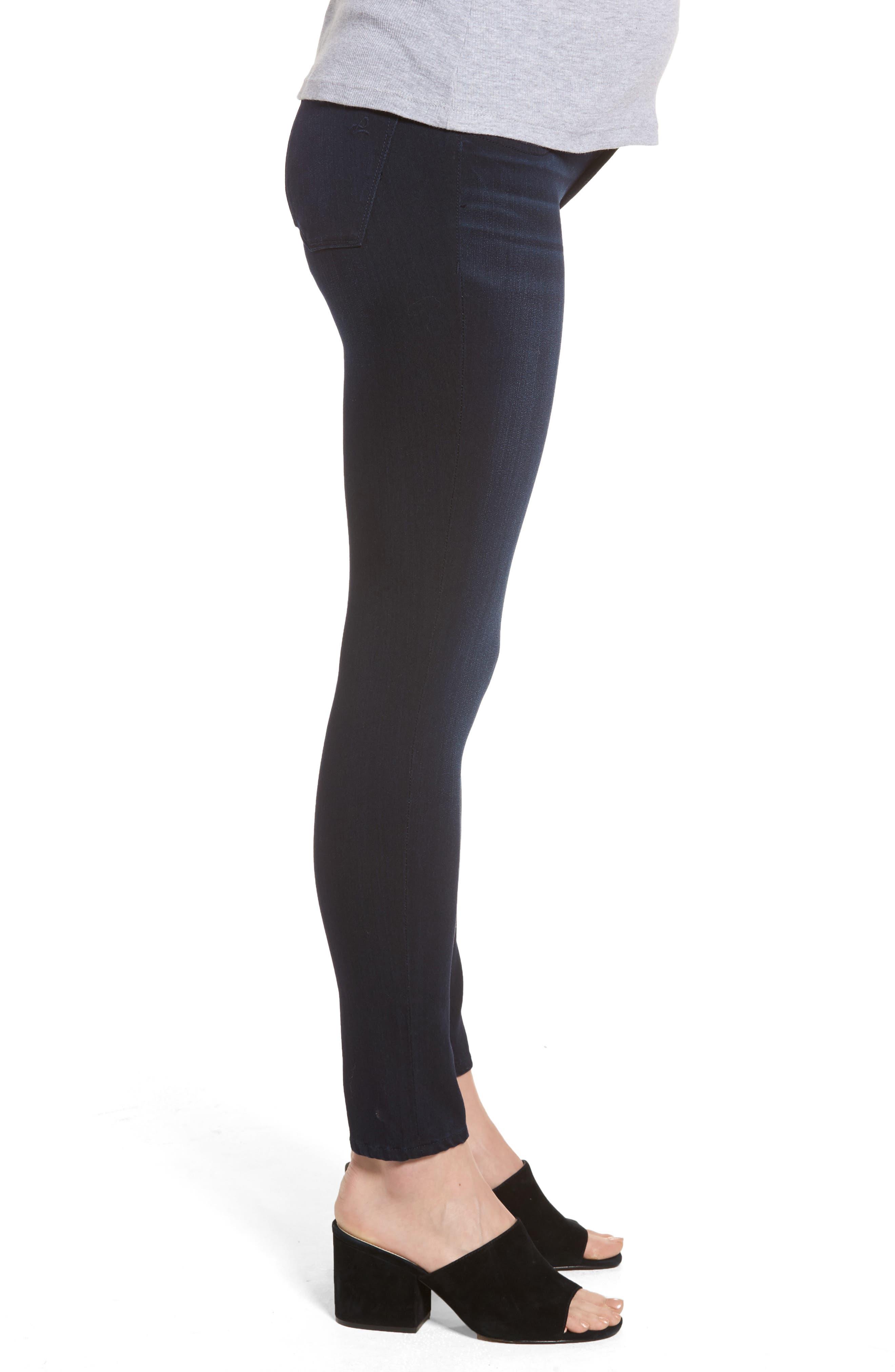 Emma Power Legging Maternity Jeans,                             Alternate thumbnail 3, color,                             Token