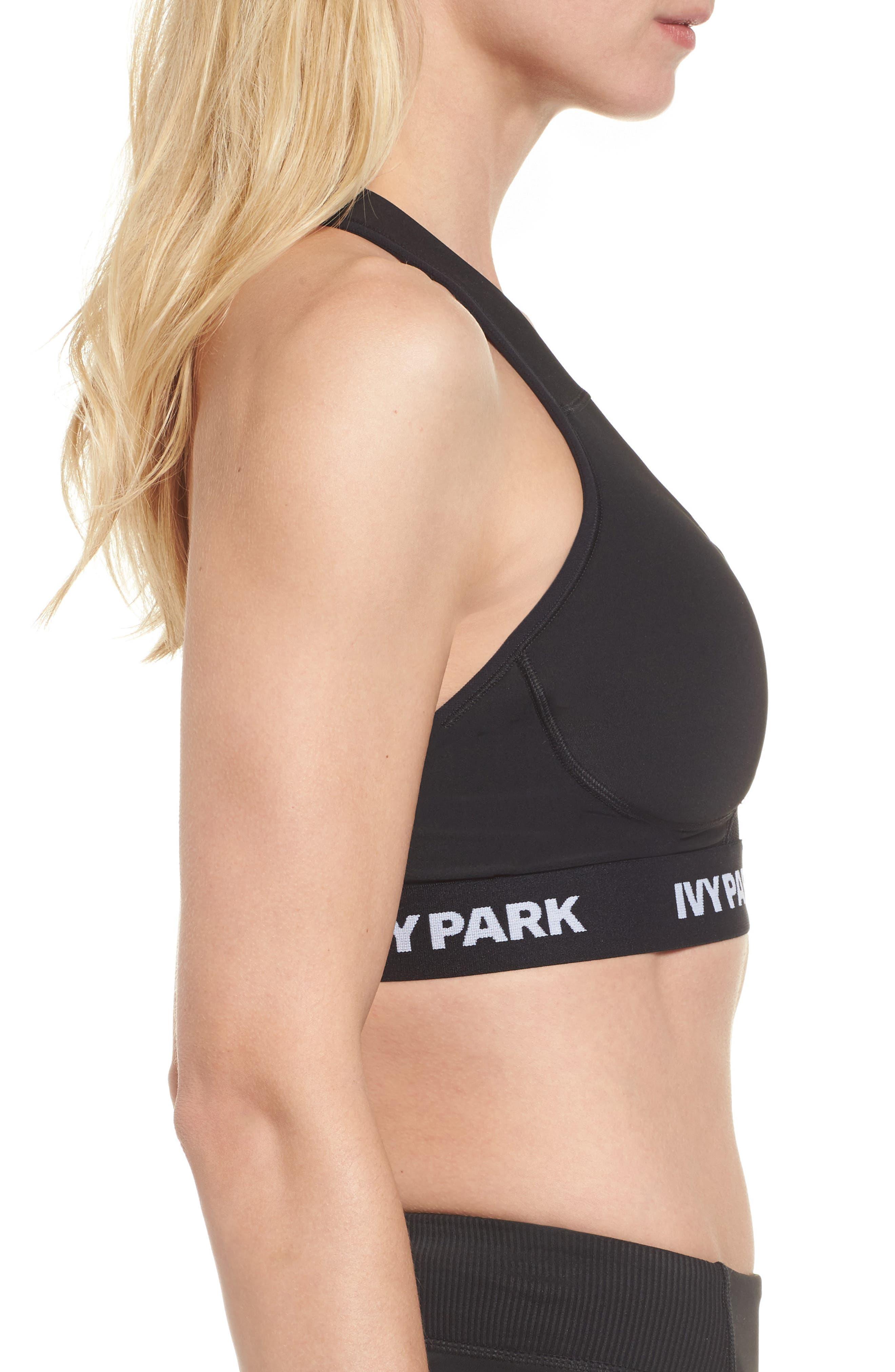 Alternate Image 3  - IVY PARK® Mesh Inset Sports Bra