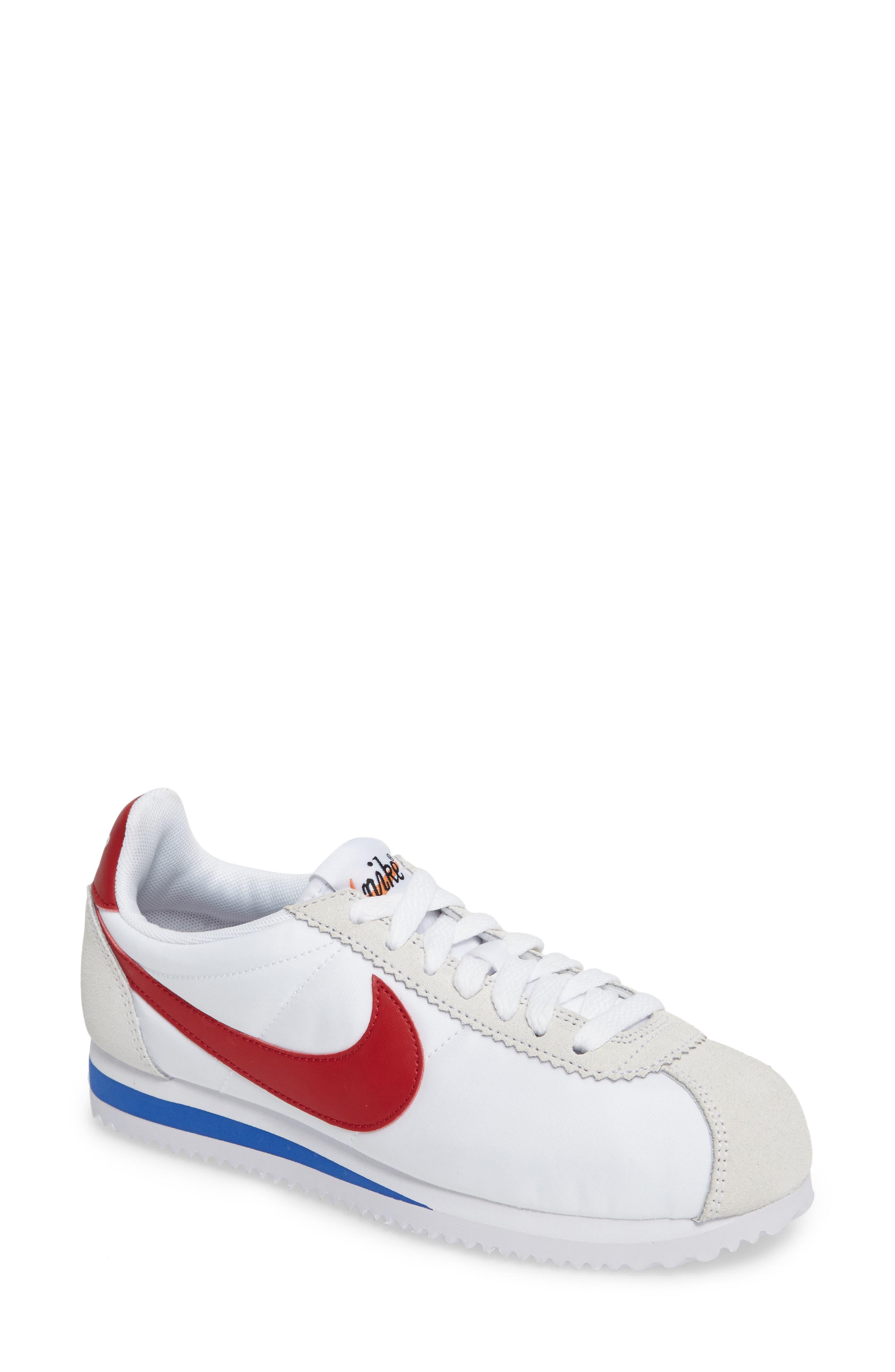 Alternate Image 1 Selected - Nike Classic Cortez Premium Sneaker (Women)