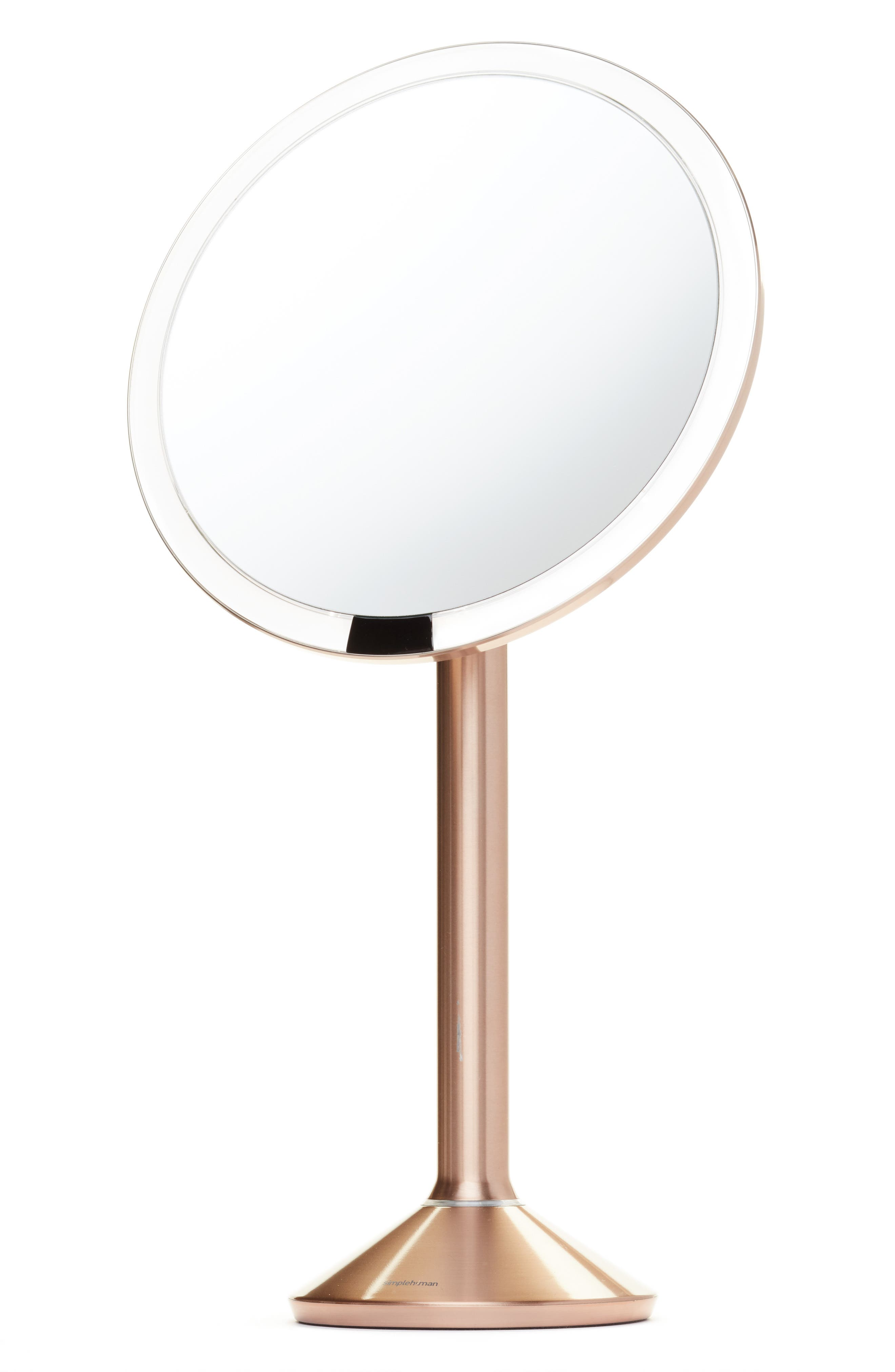 Alternate Image 1 Selected - simplehuman Round Sensor Mirror Pro (8-Inch)