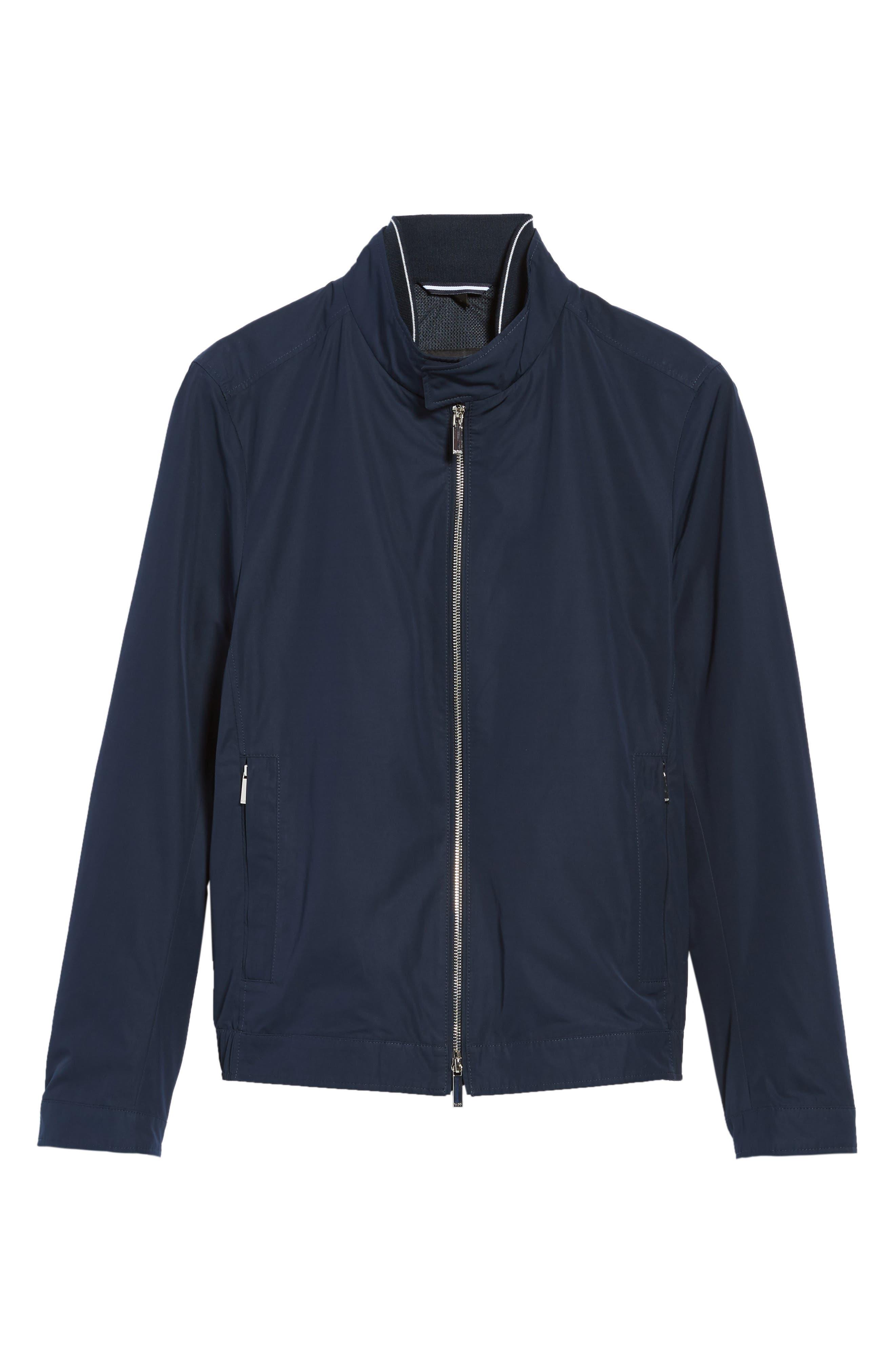 Alternate Image 5  - BOSS Cael Zip Front Jacket