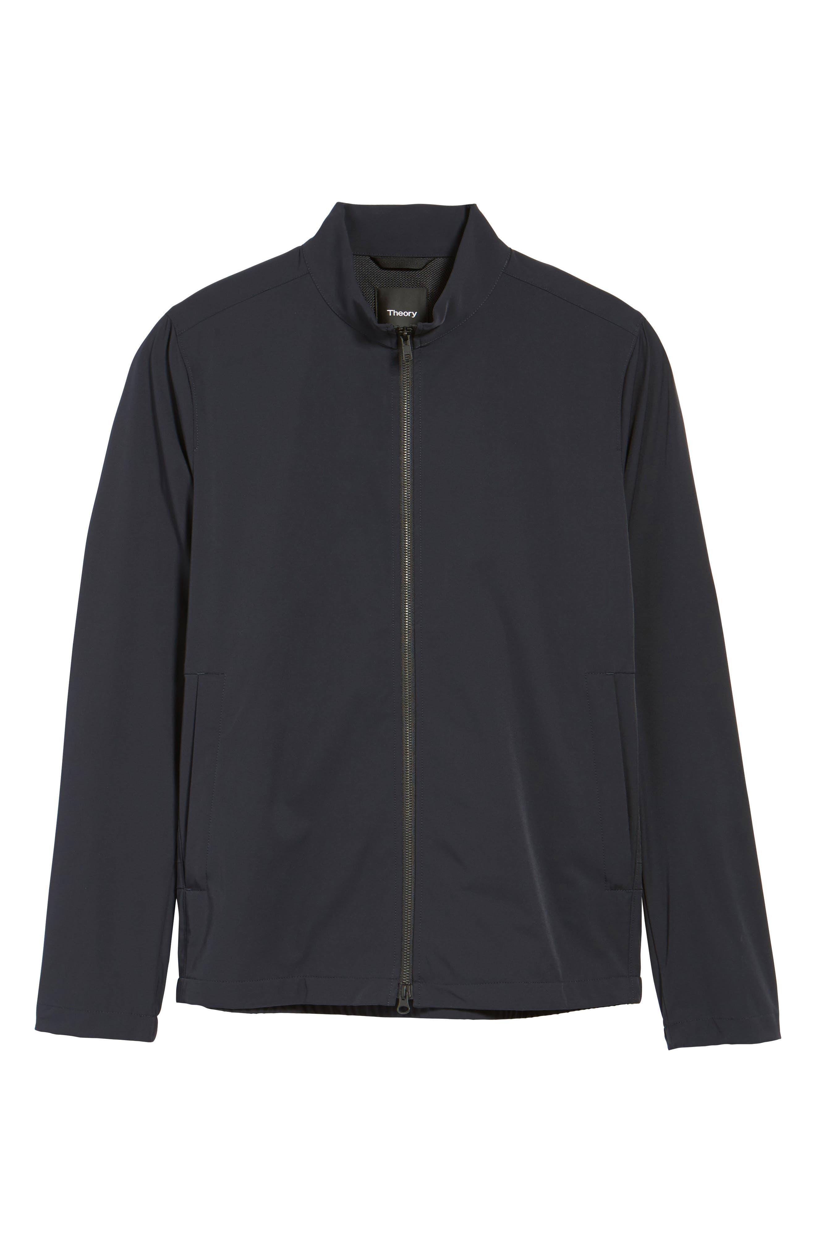 Scotty Bevan Zip Front Jacket,                             Alternate thumbnail 5, color,                             Eclipse