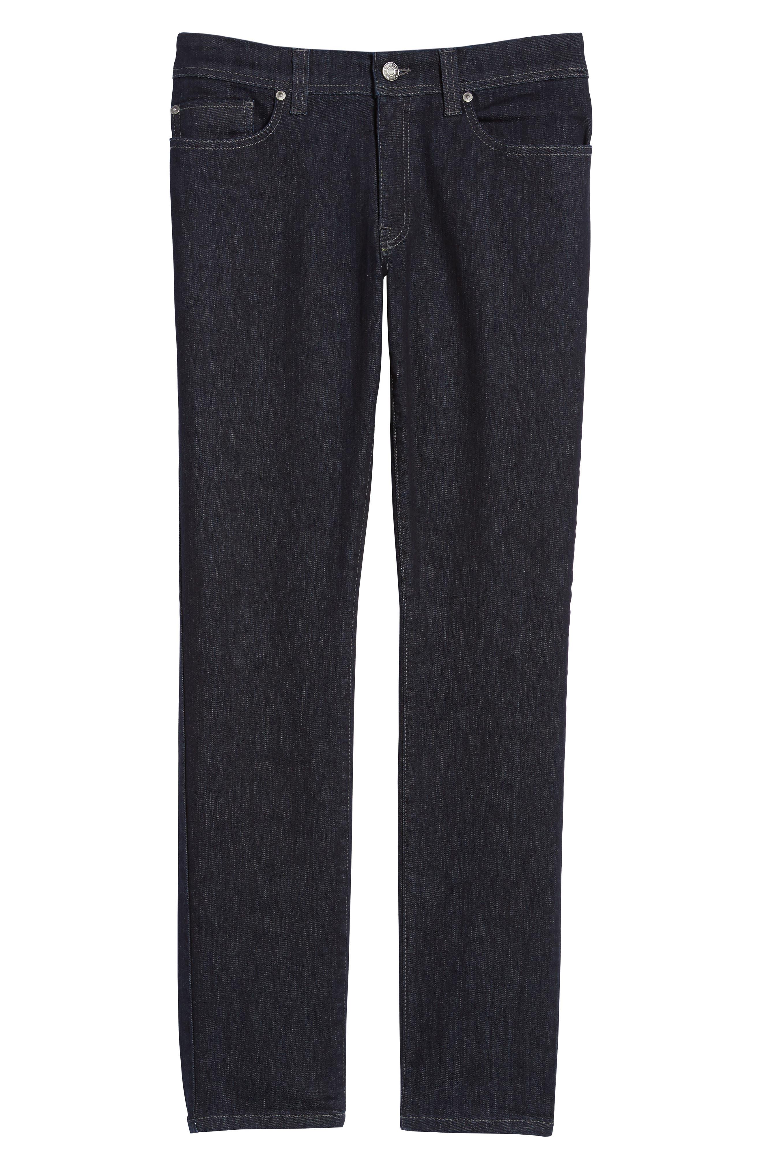 Alternate Image 7  - Fidelity Denim Torino Slim Fit Jeans (Capital Blue)