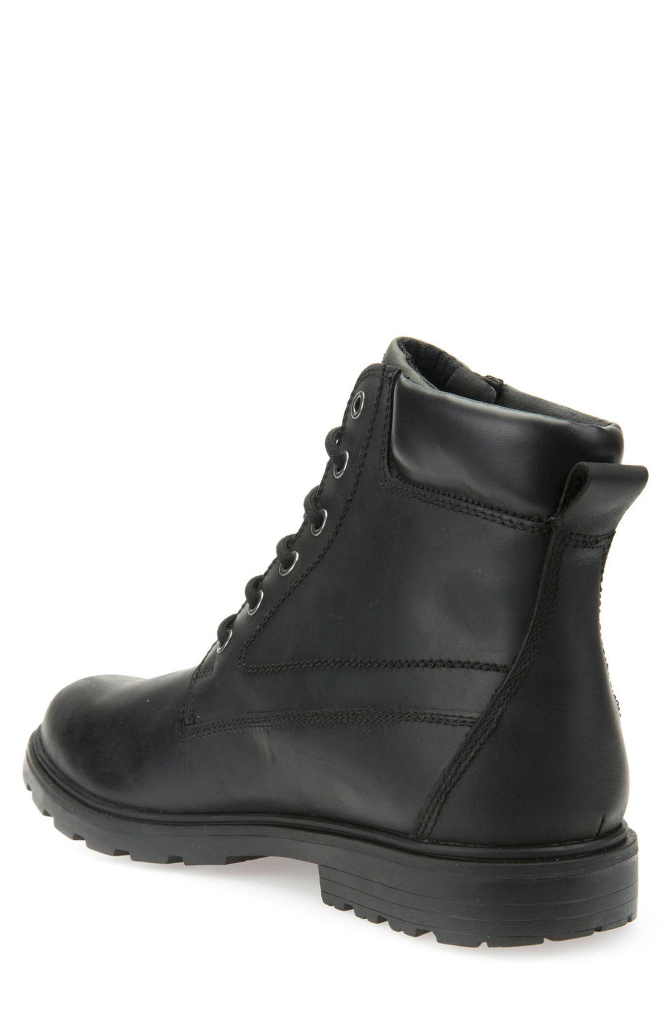 Makim Waterproof Plain Toe Boot,                             Alternate thumbnail 2, color,                             Black