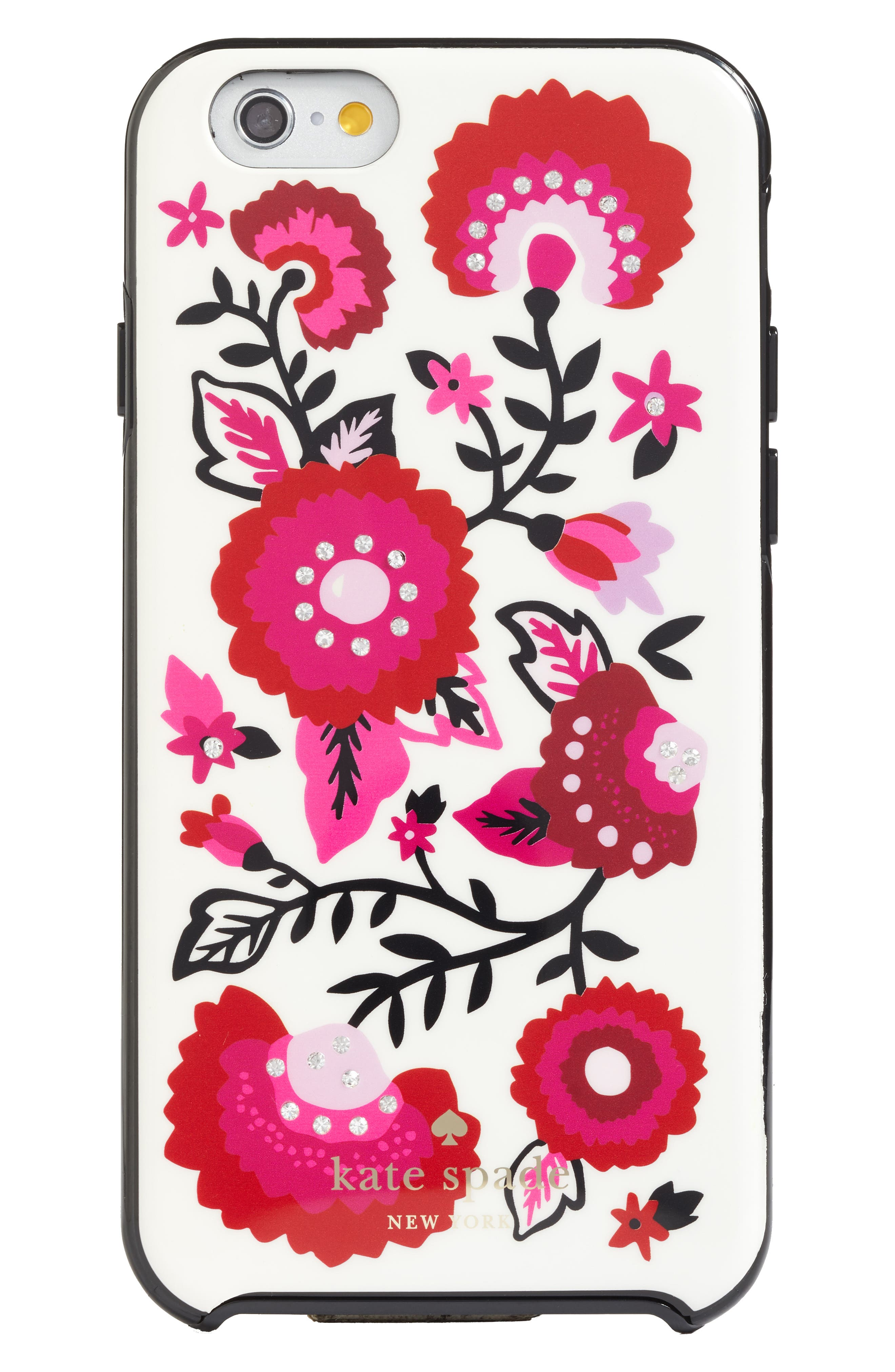 Alternate Image 1 Selected - kate spade new york jeweled garland iPhone 7/8 & 7/8 Plus case (Nordstrom Exclusive)