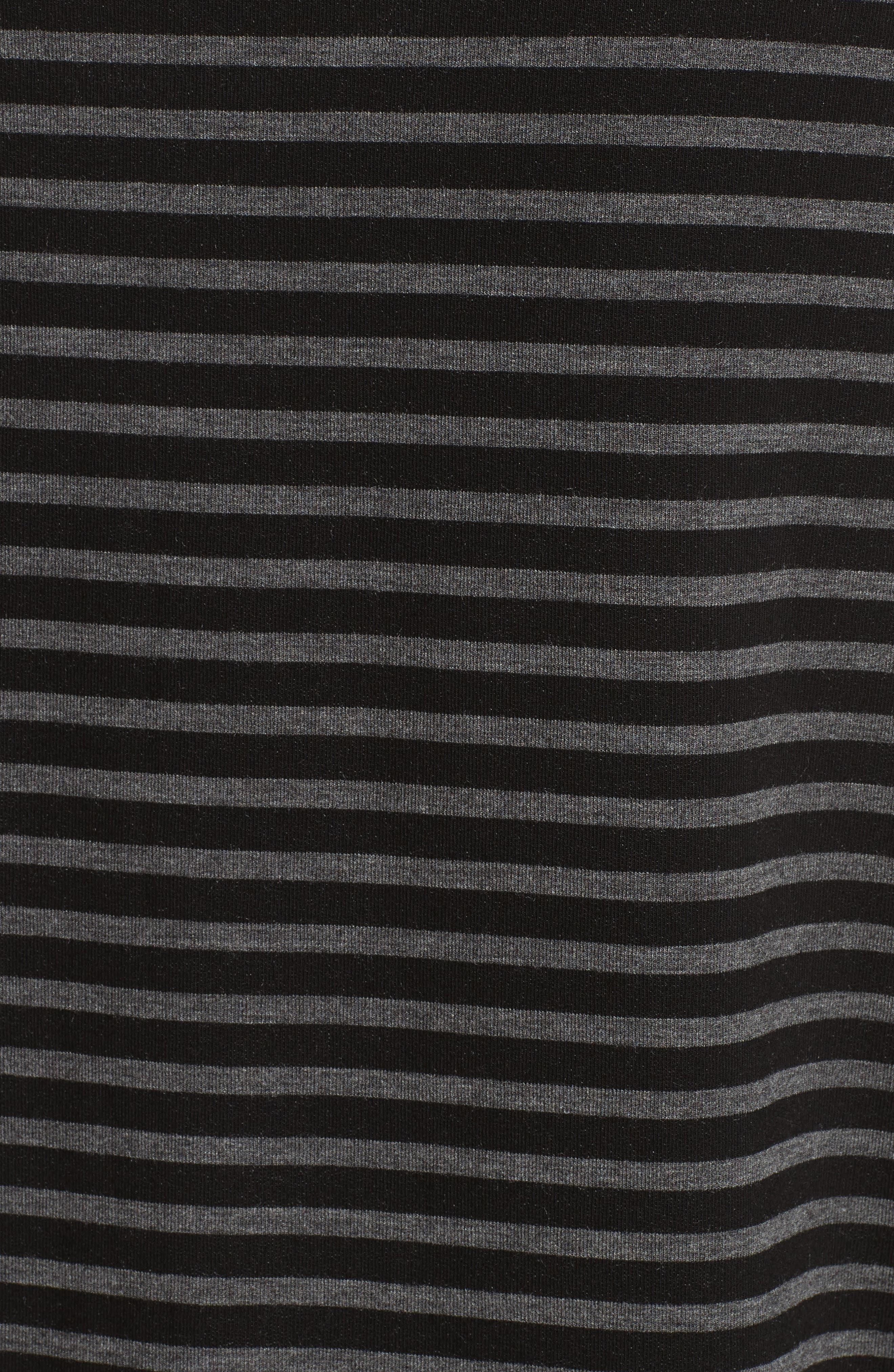 Alternate Image 5  - Majestic Filatures Striped Terry Tee