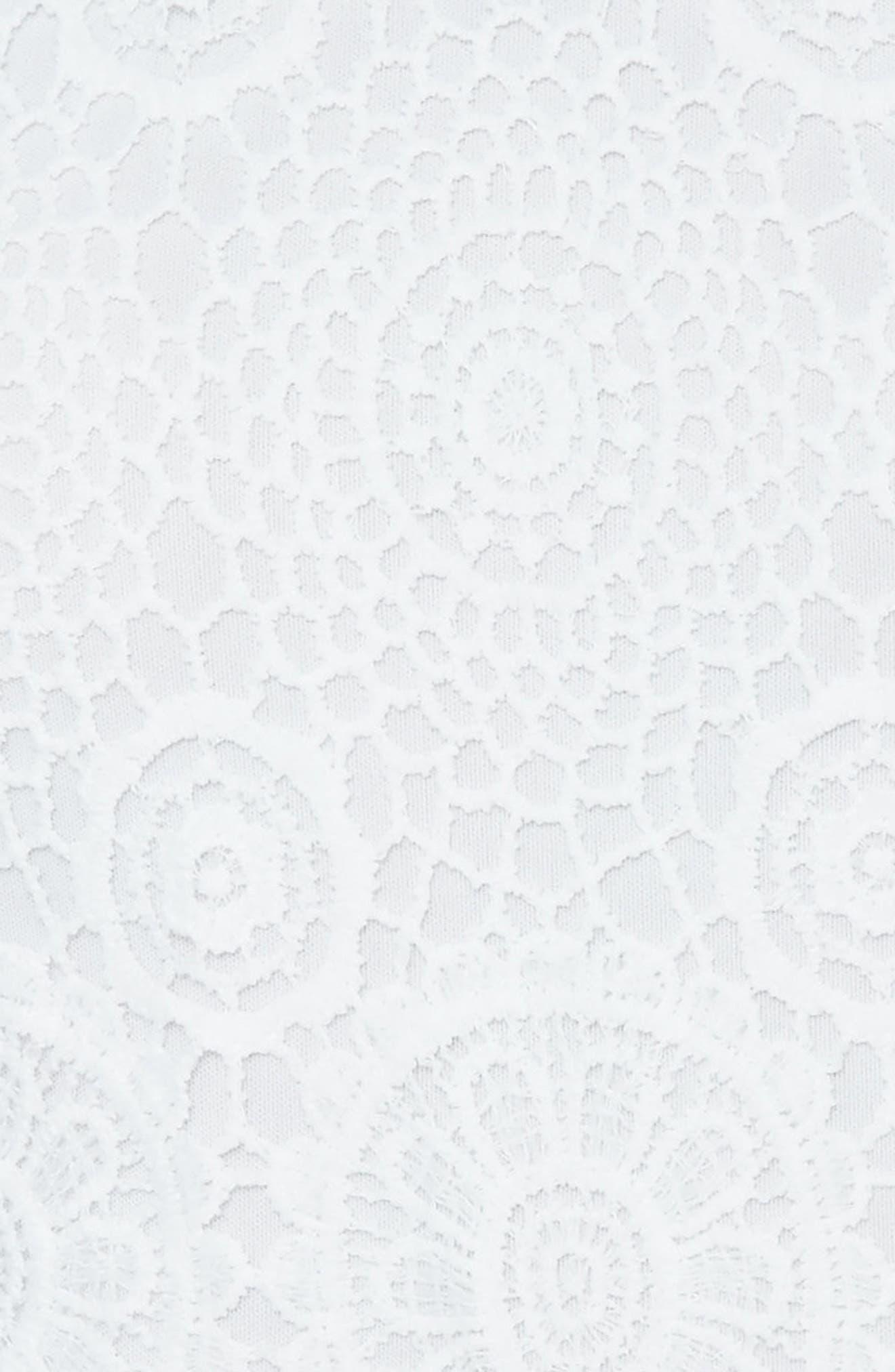 Alternate Image 4  - Missguidded Crochet Lace Halter Romper