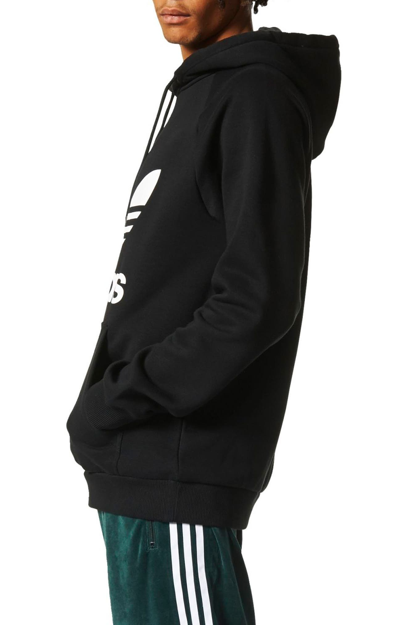Alternate Image 3  - adidas Originals Trefoil Graphic Hoodie