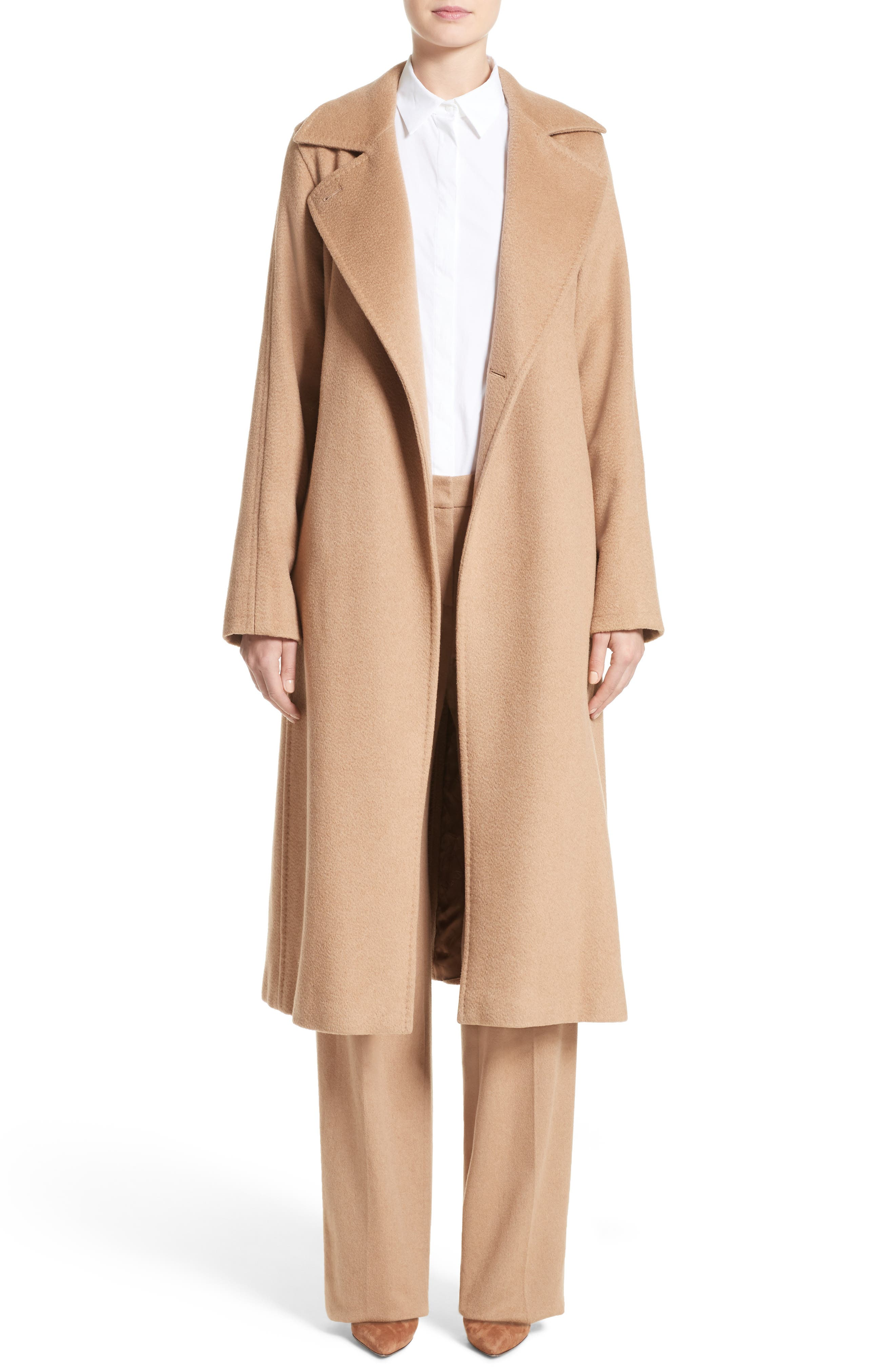 Alternate Image 7  - Max Mara 'Manuela' Camel Hair Coat