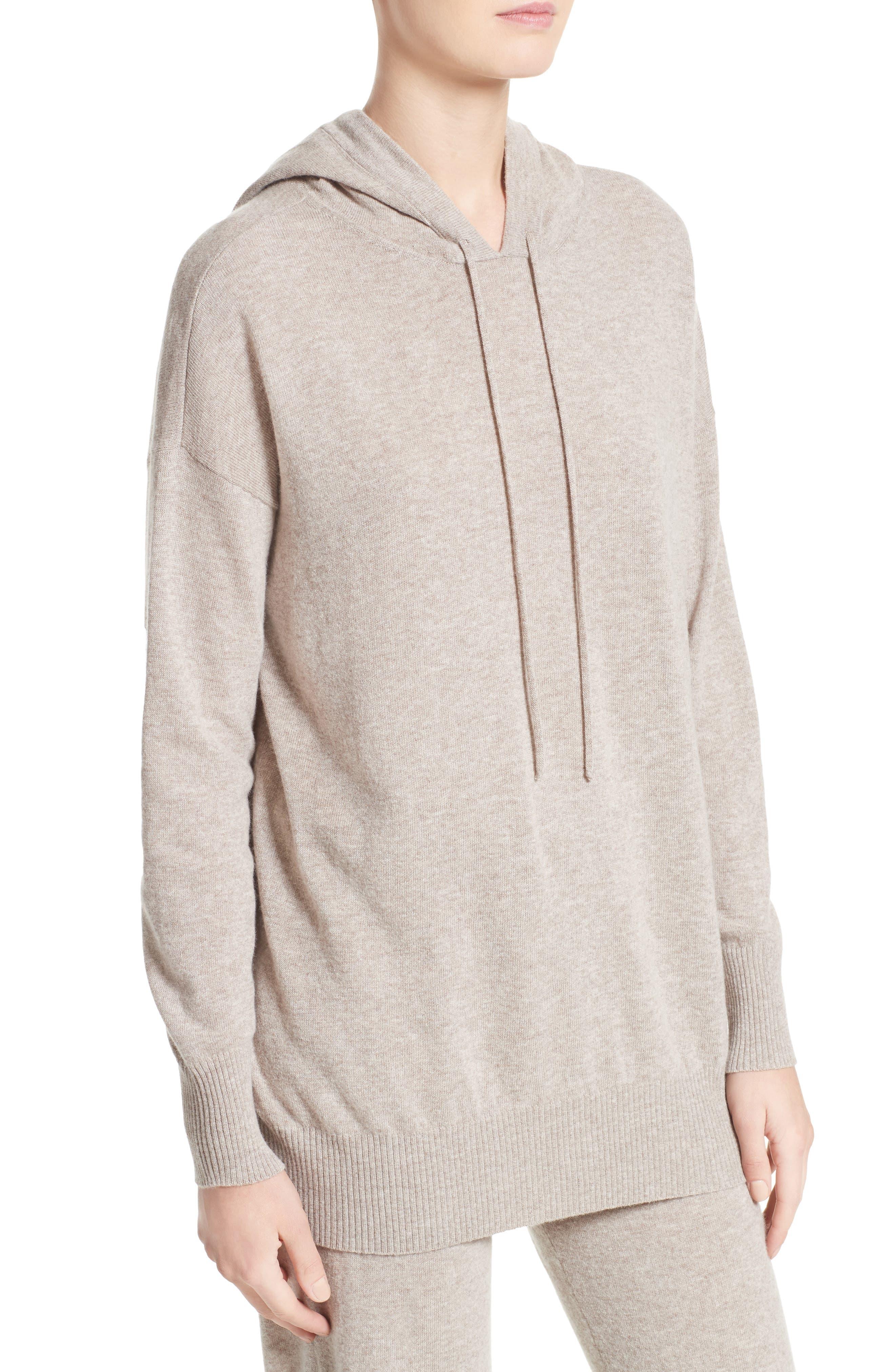 Alternate Image 4  - Max Mara Nitra Wool & Cashmere Hooded Sweater