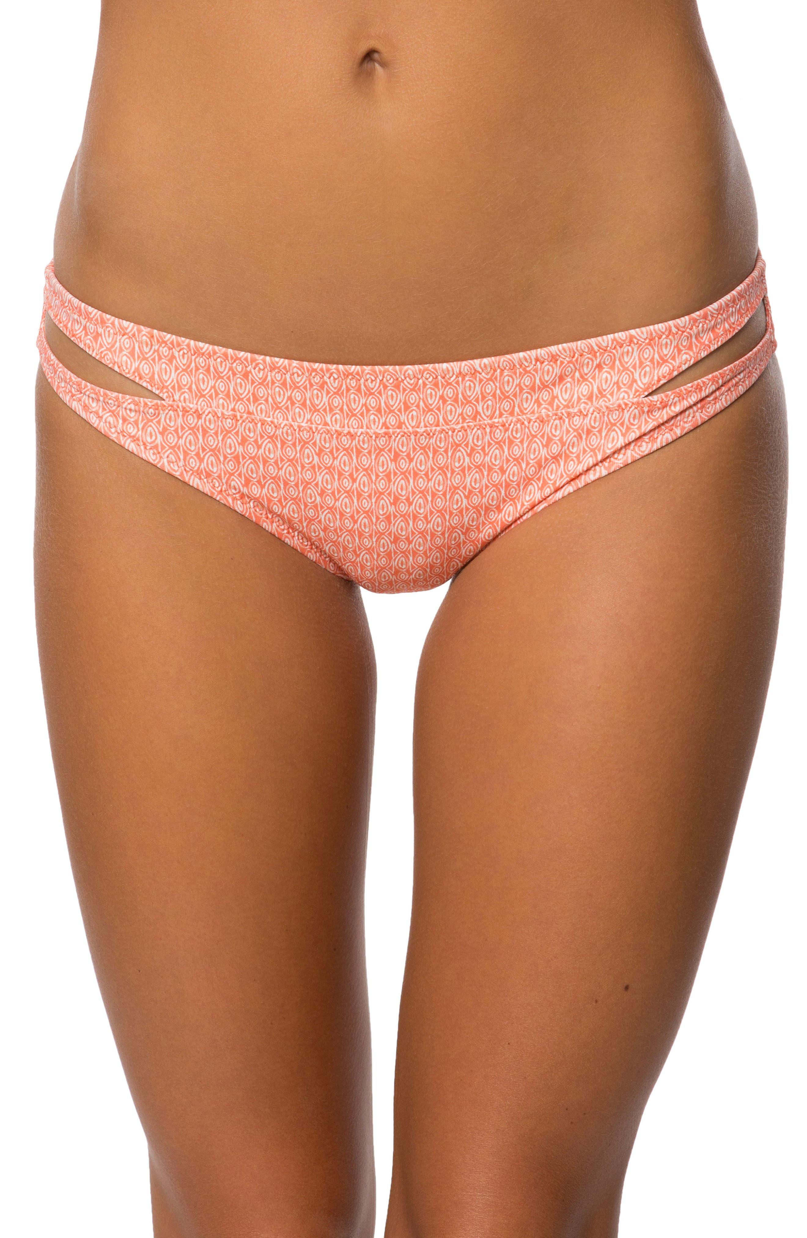 Tide Bikini Bottoms,                         Main,                         color, Sunset Sky