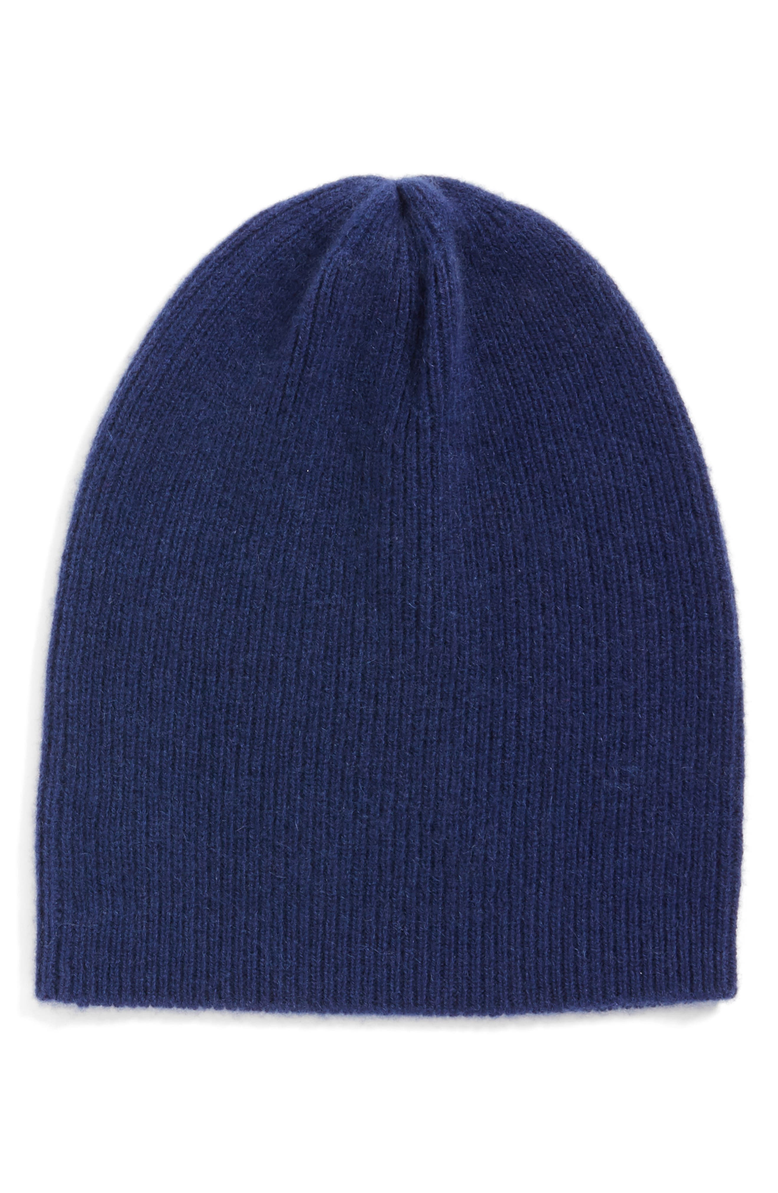 HALOGEN<SUP>®</SUP> Slouchy Cashmere Beanie