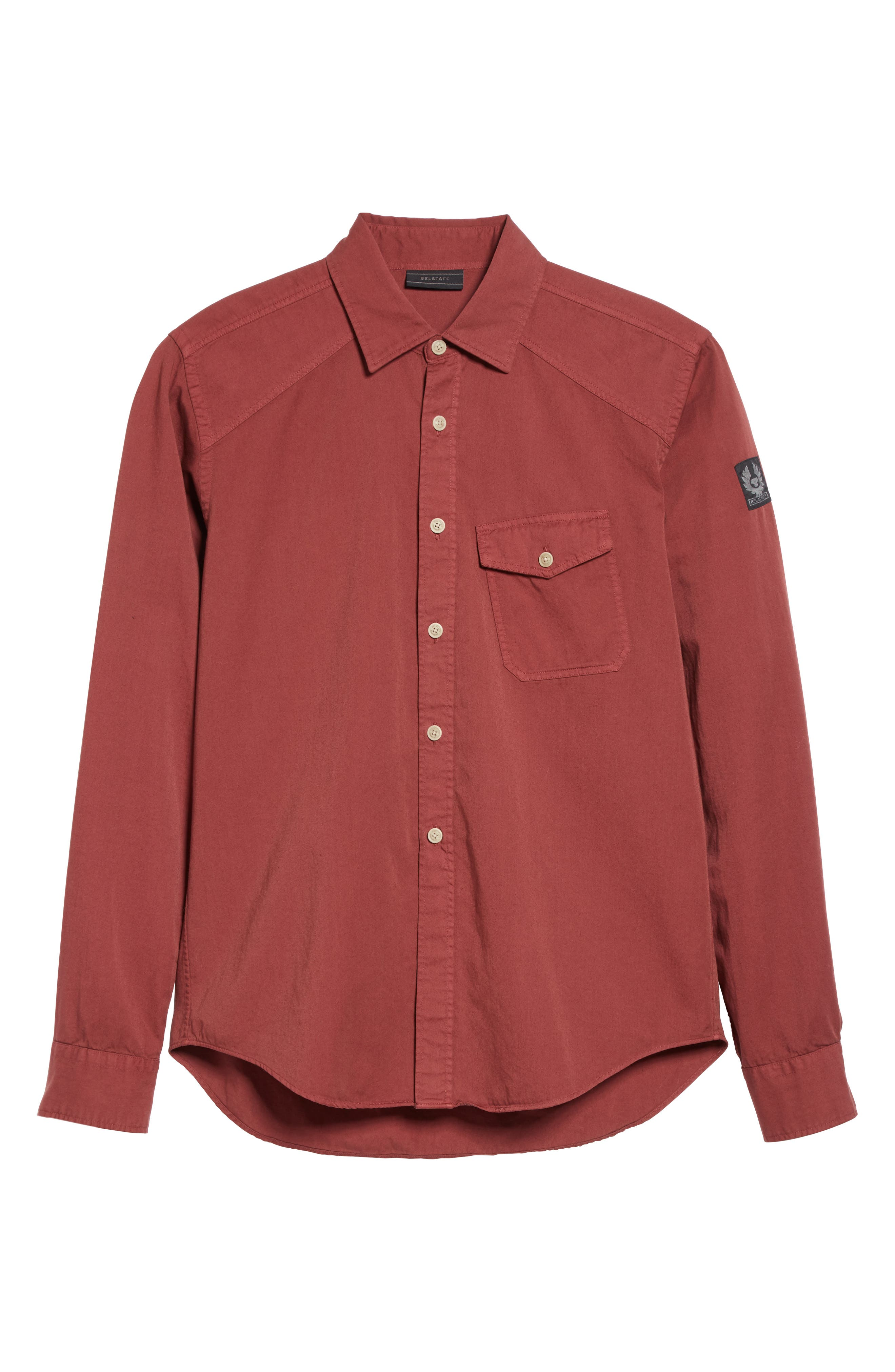 Alternate Image 6  - Belstaff Steadway Sport Shirt