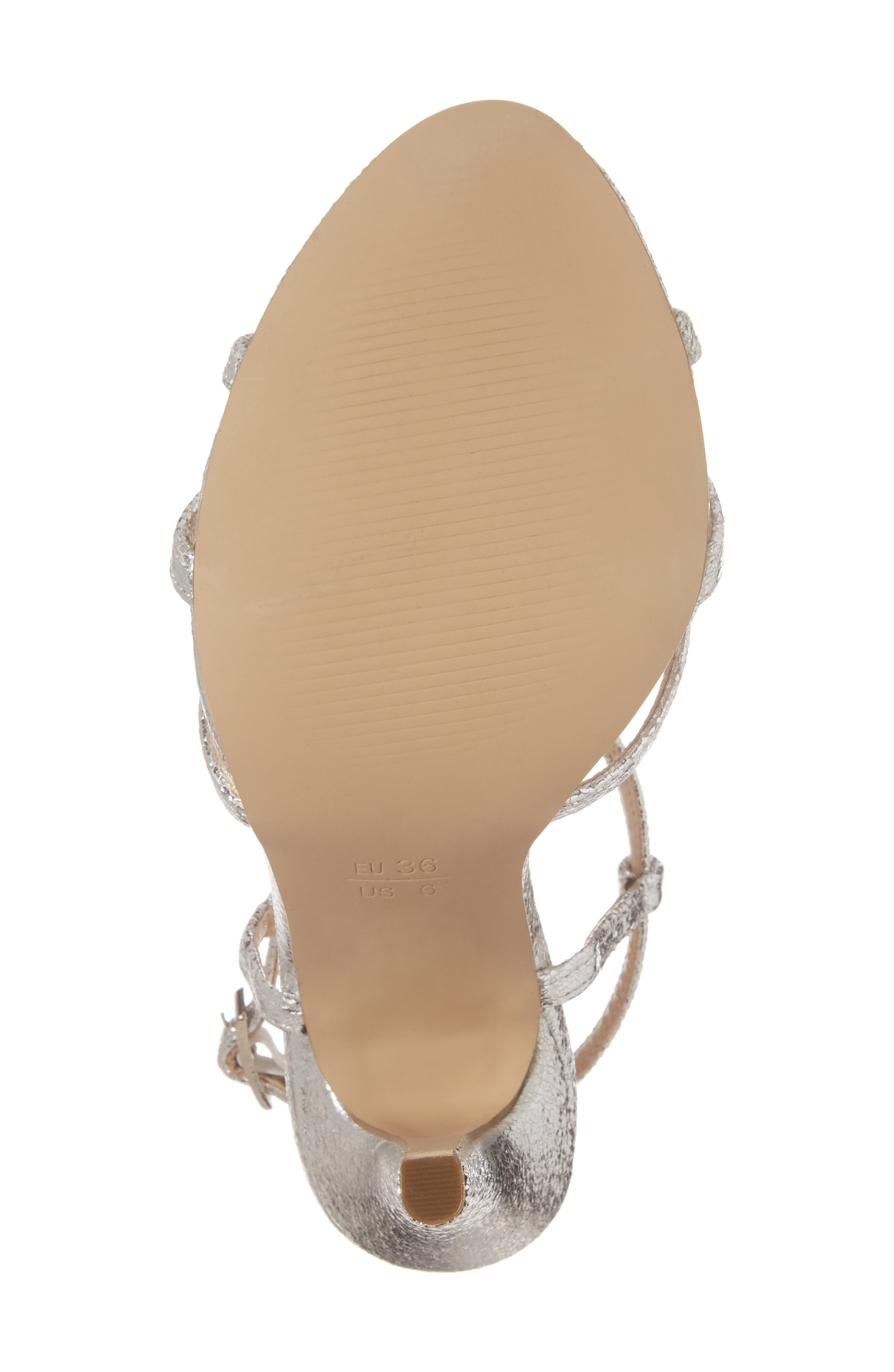 Magic Slingback Sandal,                             Alternate thumbnail 6, color,                             Silver