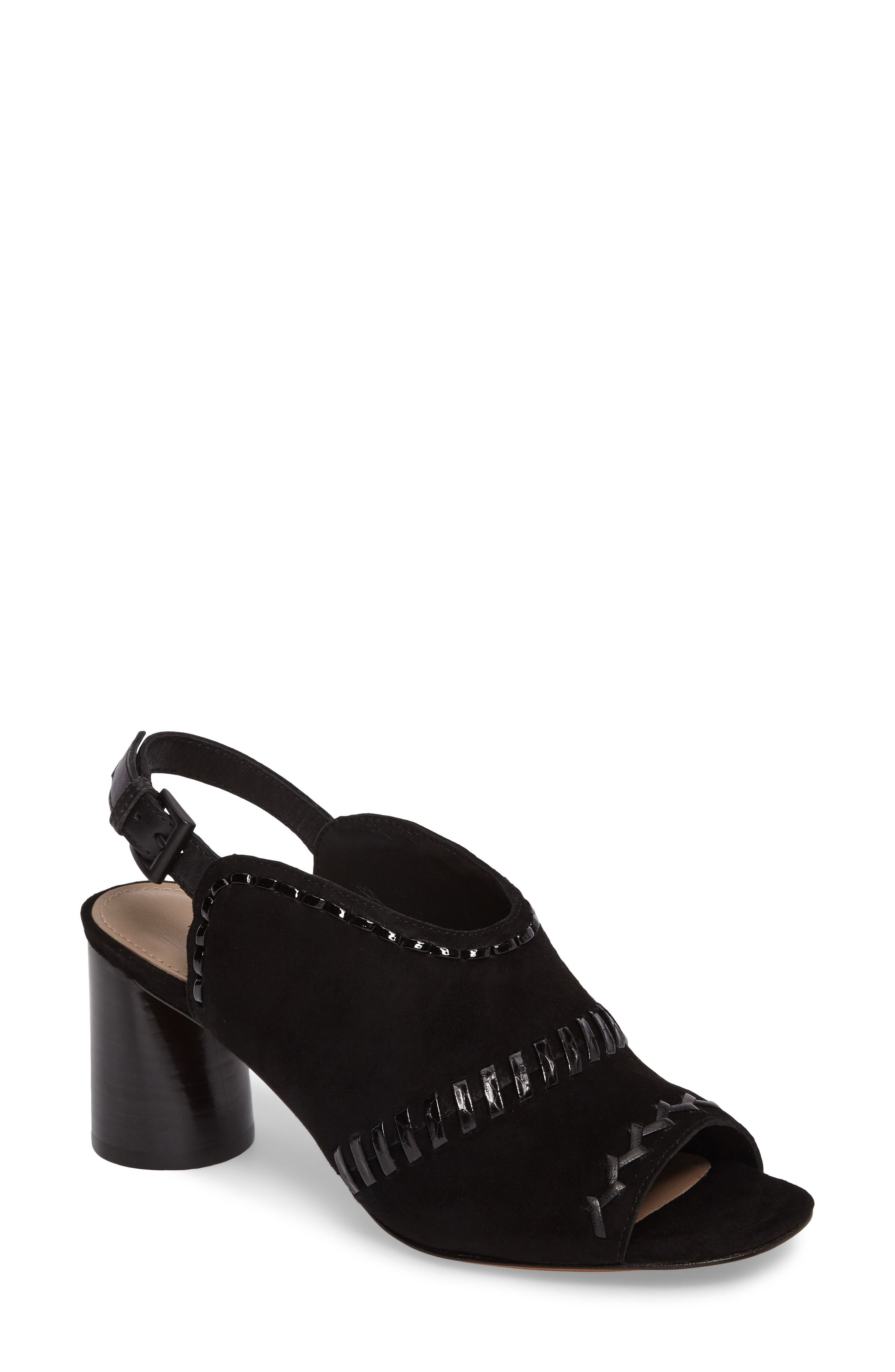 Main Image - Donald Pliner Hemi Cone Heel Slingback Sandal (Women)