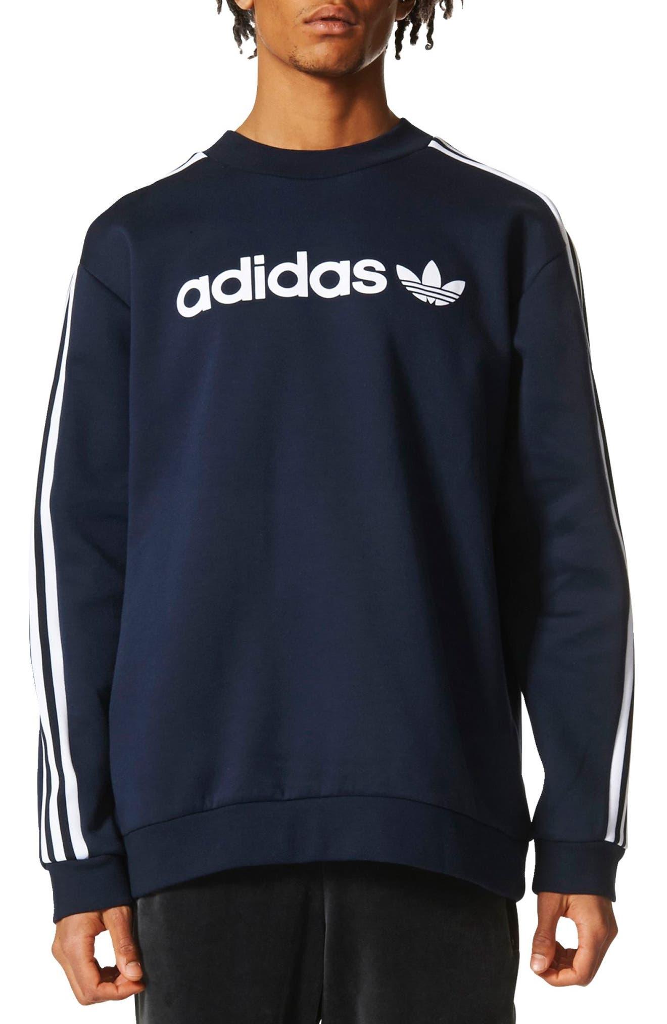 Main Image - adidas Originals Linear Graphic Sweatshirt