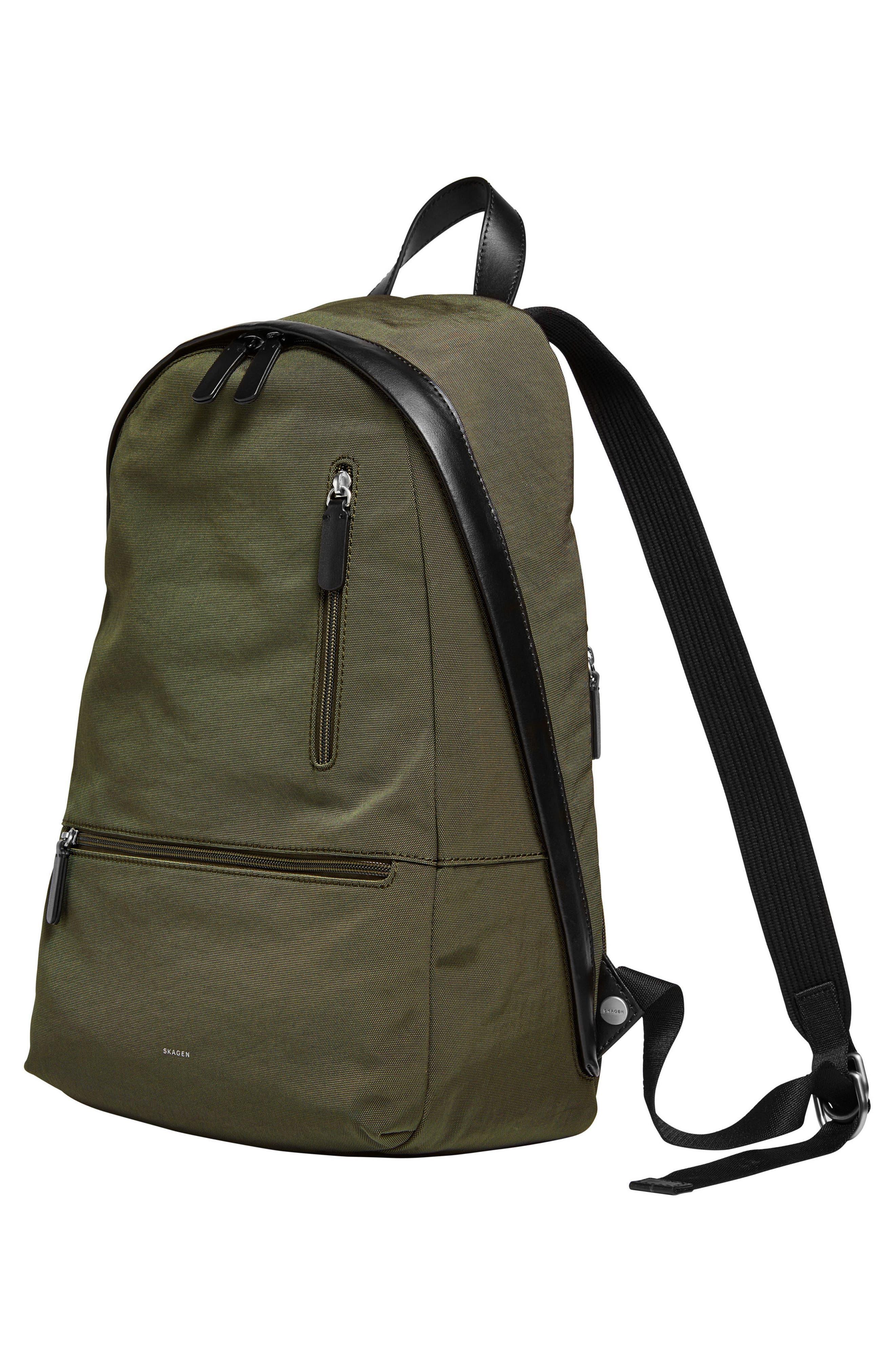 Kroyer Backpack,                             Alternate thumbnail 4, color,                             Dark Green