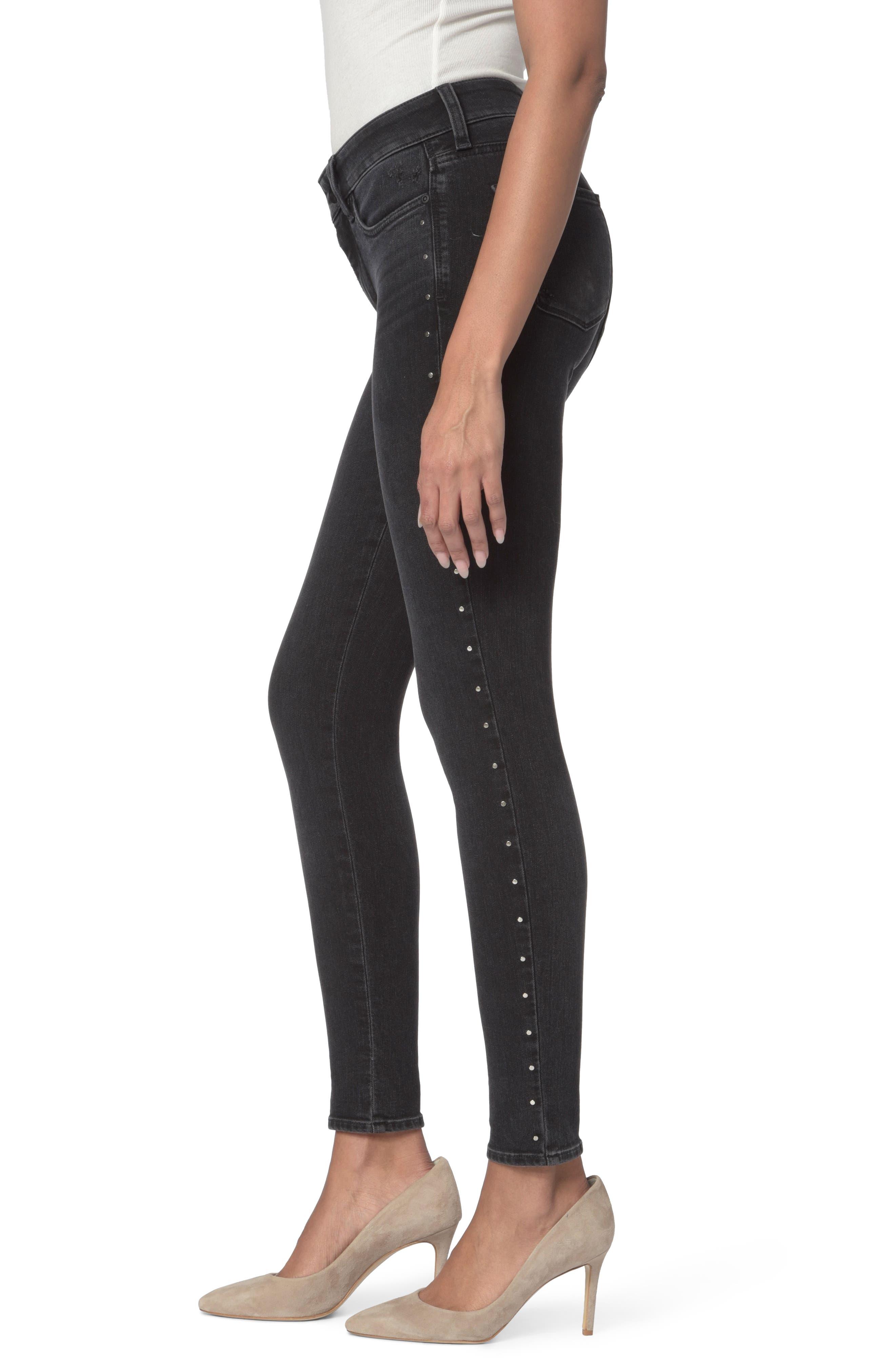 Alternate Image 3  - NYDJ Ami Embellished Stretch Skinny Jeans (Campaign) (Regular & Petite)